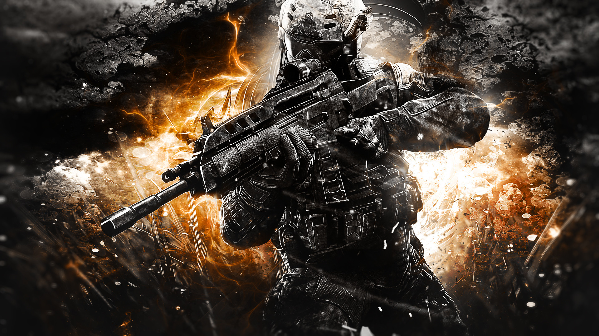 Call of Duty Black Ops 3 With Resolutions 1920×1080 Pixel
