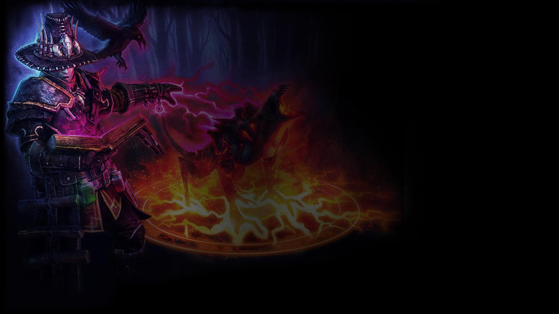 Image – Grim Dawn Background Occultist.jpg   Steam Trading Cards Wiki    FANDOM powered by Wikia