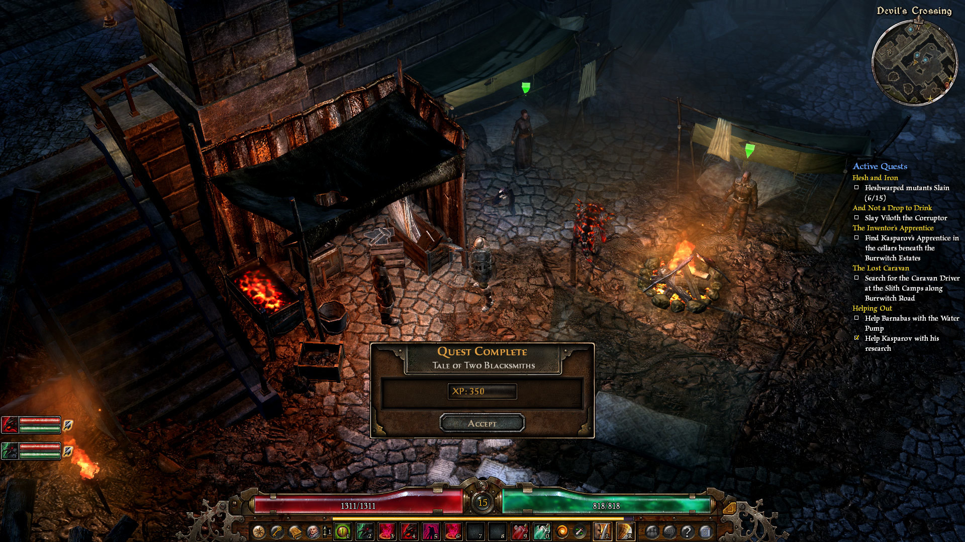 Grim Dawn crafting has now been added – Multiplayer in July