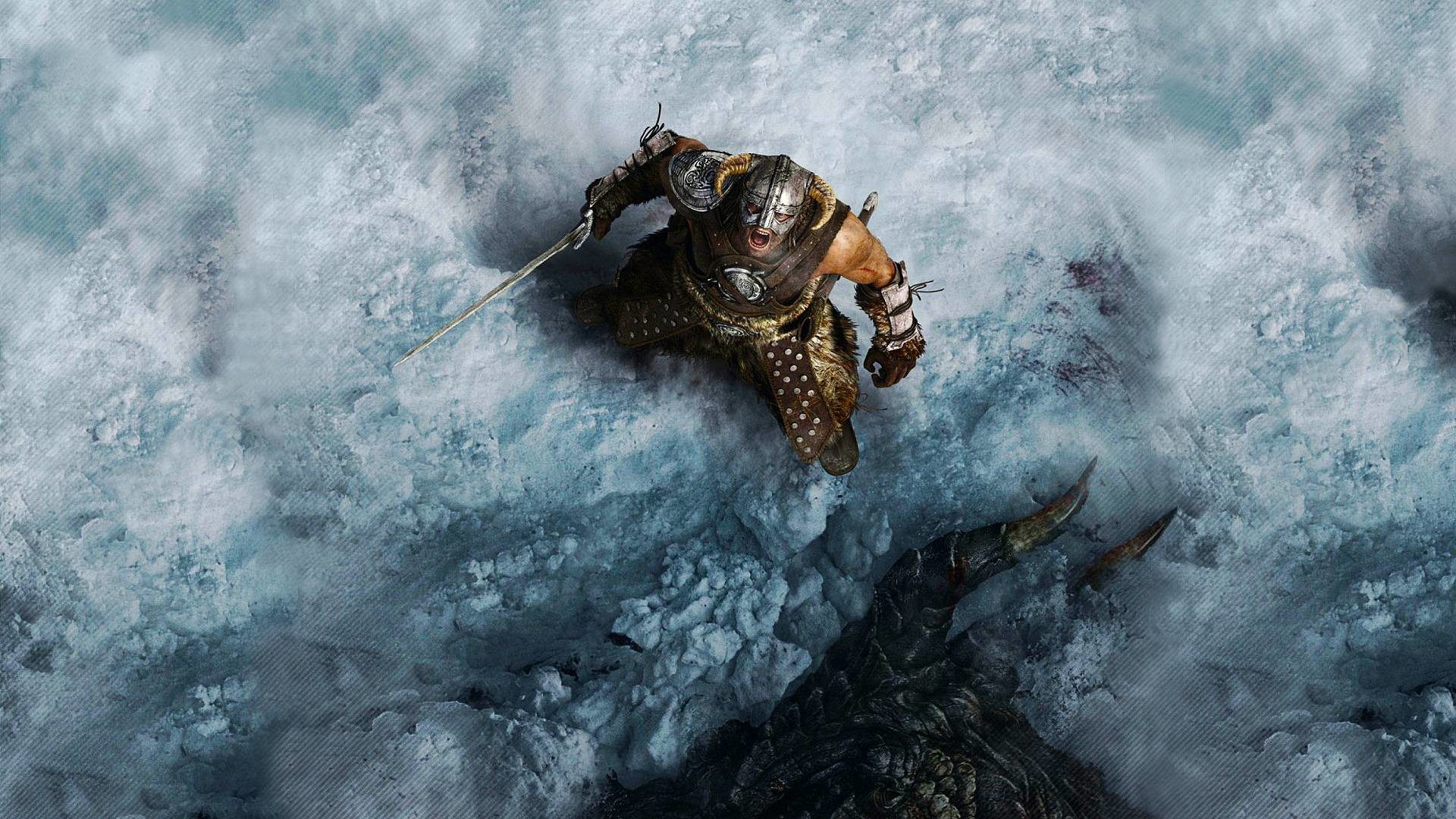 Wallpapers For > Skyrim Wallpapers 1080p