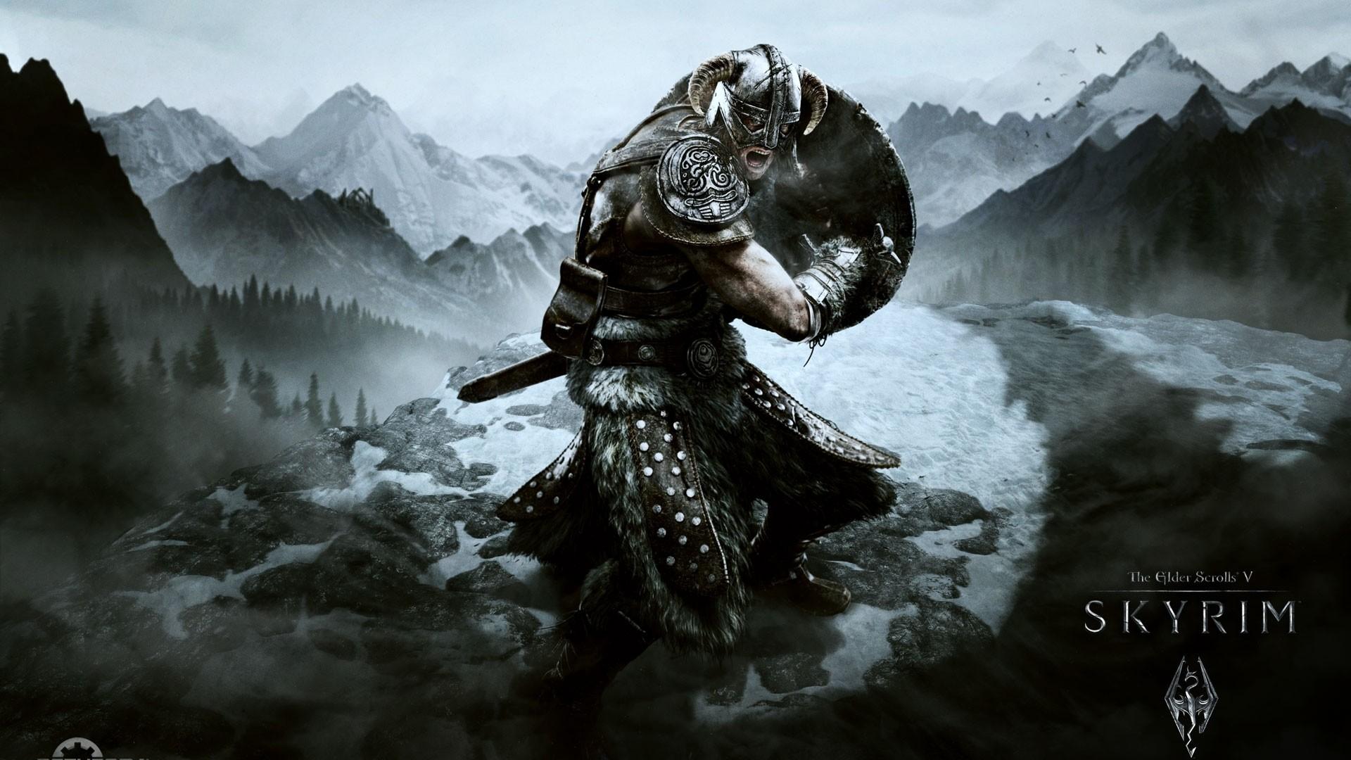 Preview wallpaper skyrim, dragonborn, the elder scrolls v skyrim, the elder  scrolls,