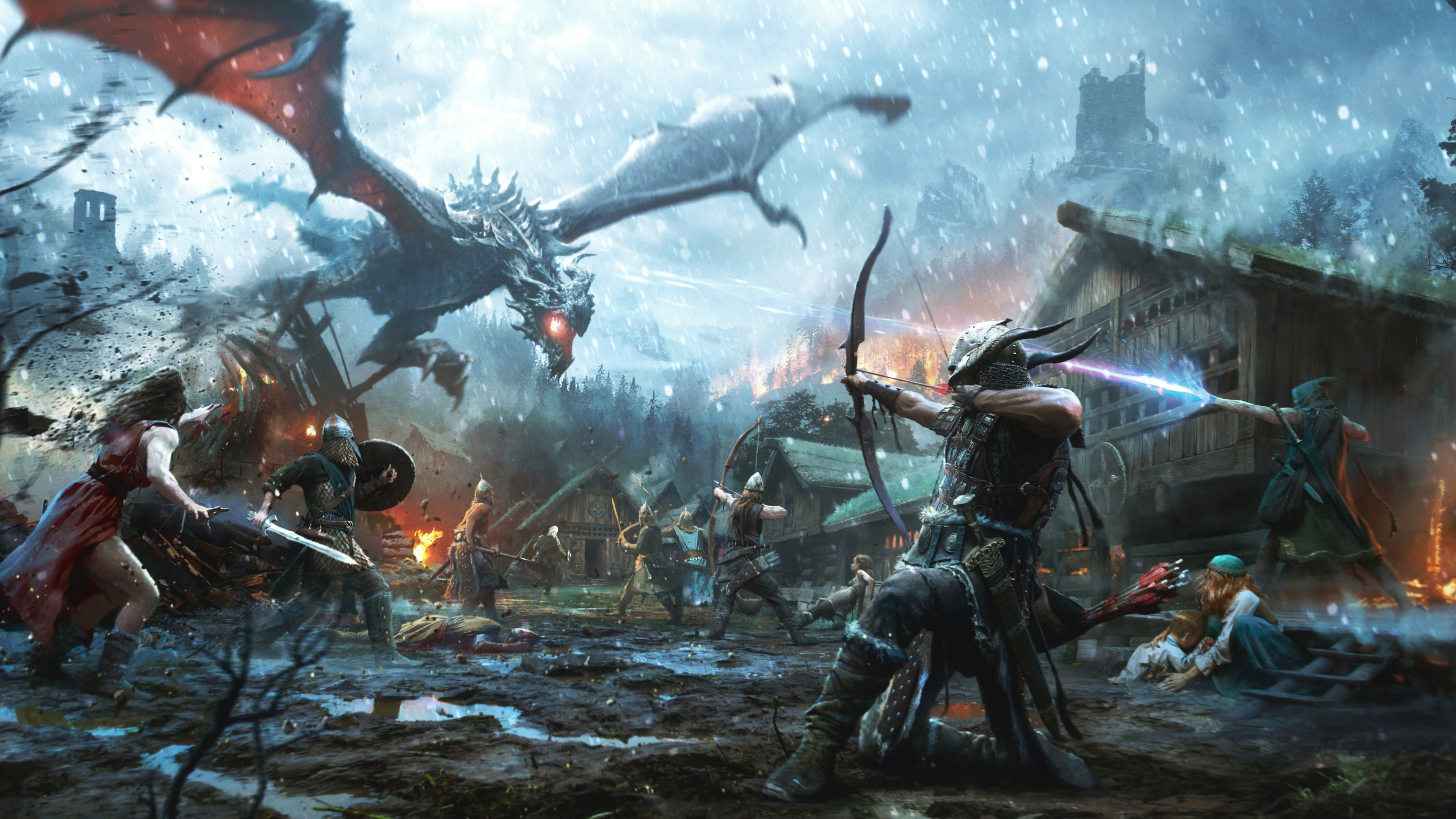 The Elder Scrolls Legends Heroes of Skyrim Wallpaper