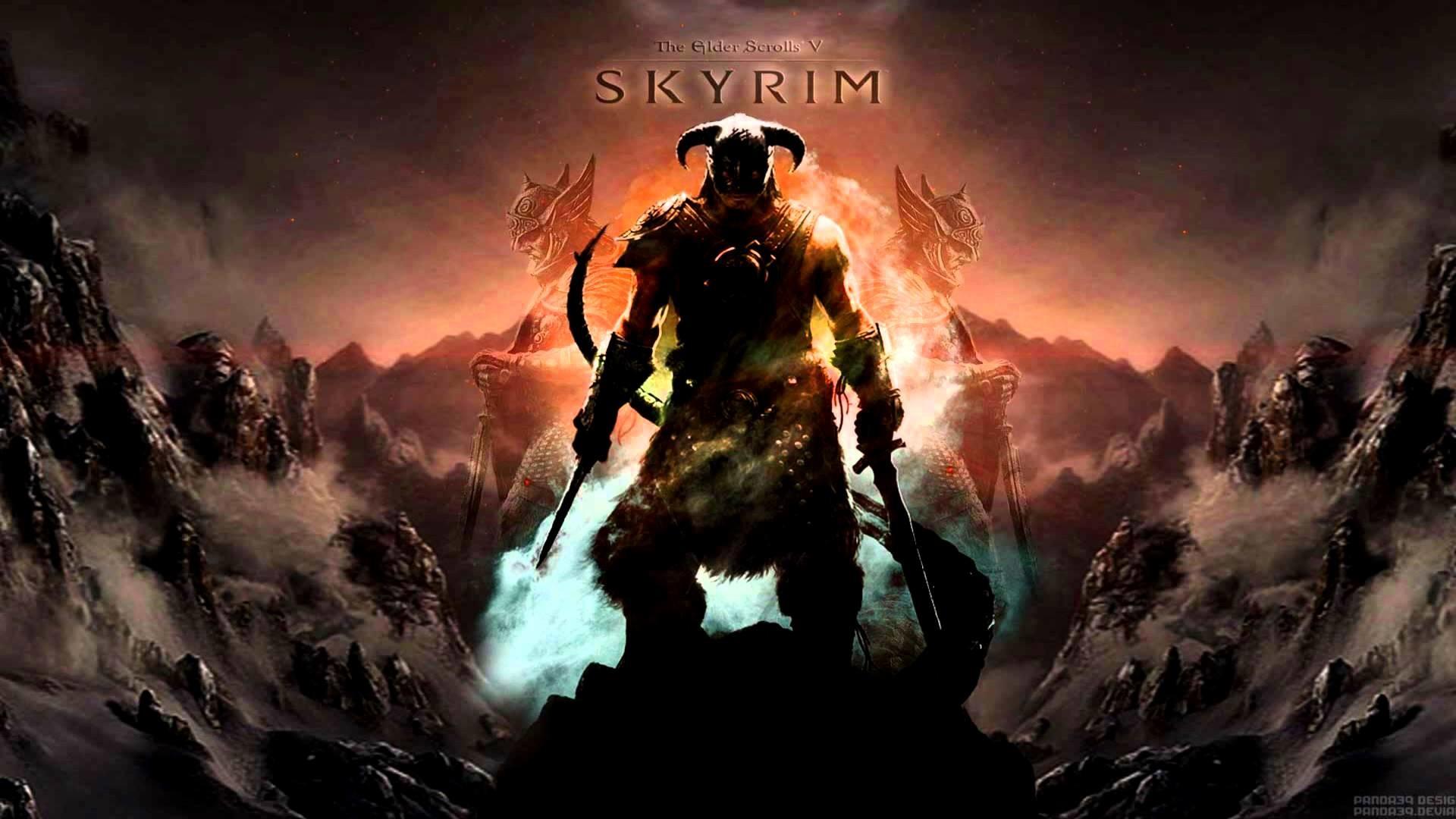 The Elder Scrolls V: Skyrim – Dragonborn (Main Theme) {Dual-Layer Remix} [1080p  HD] – YouTube