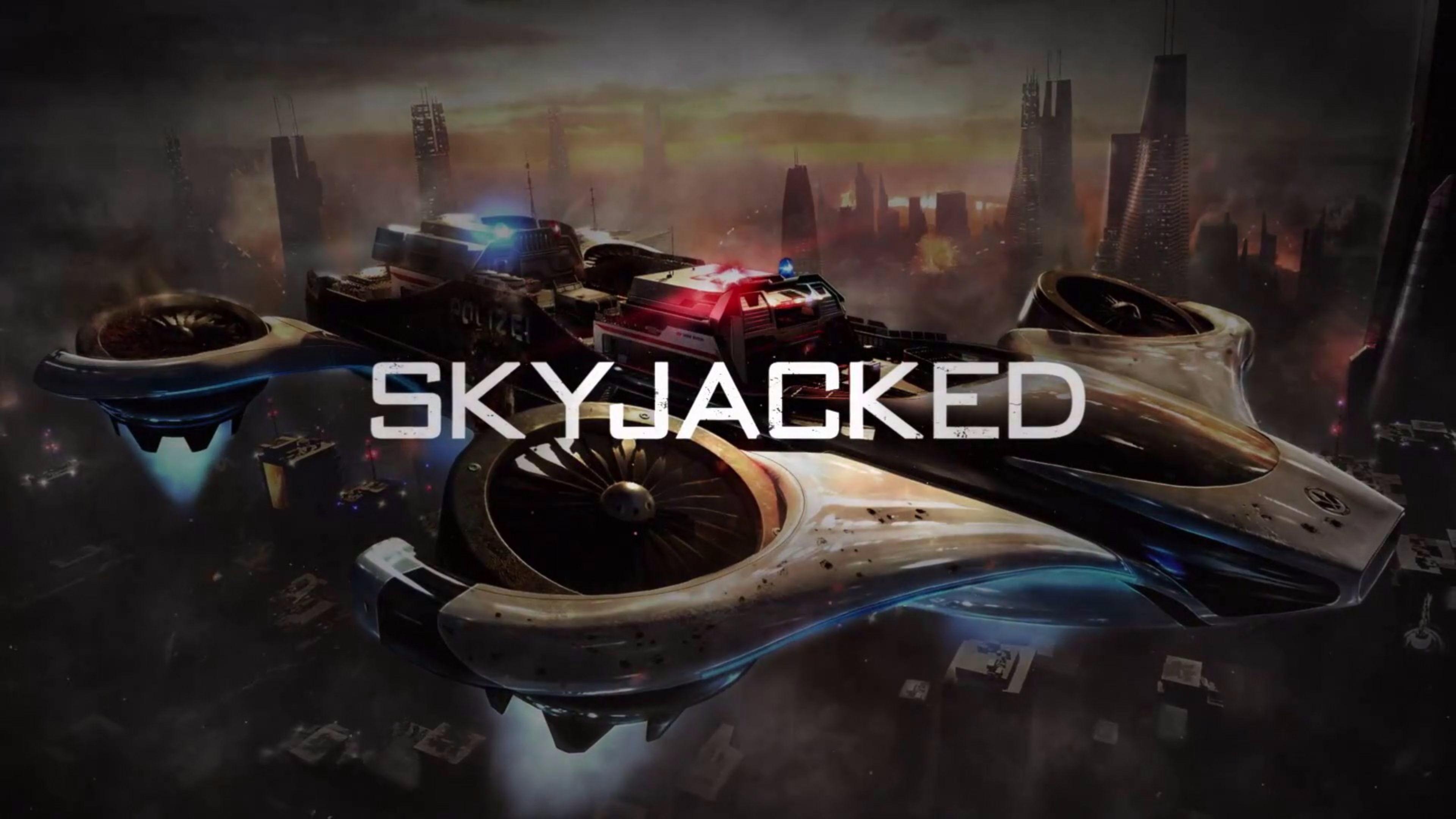Skyjacked 2016 Call of Duty Black Ops 3 4K Wallpaper