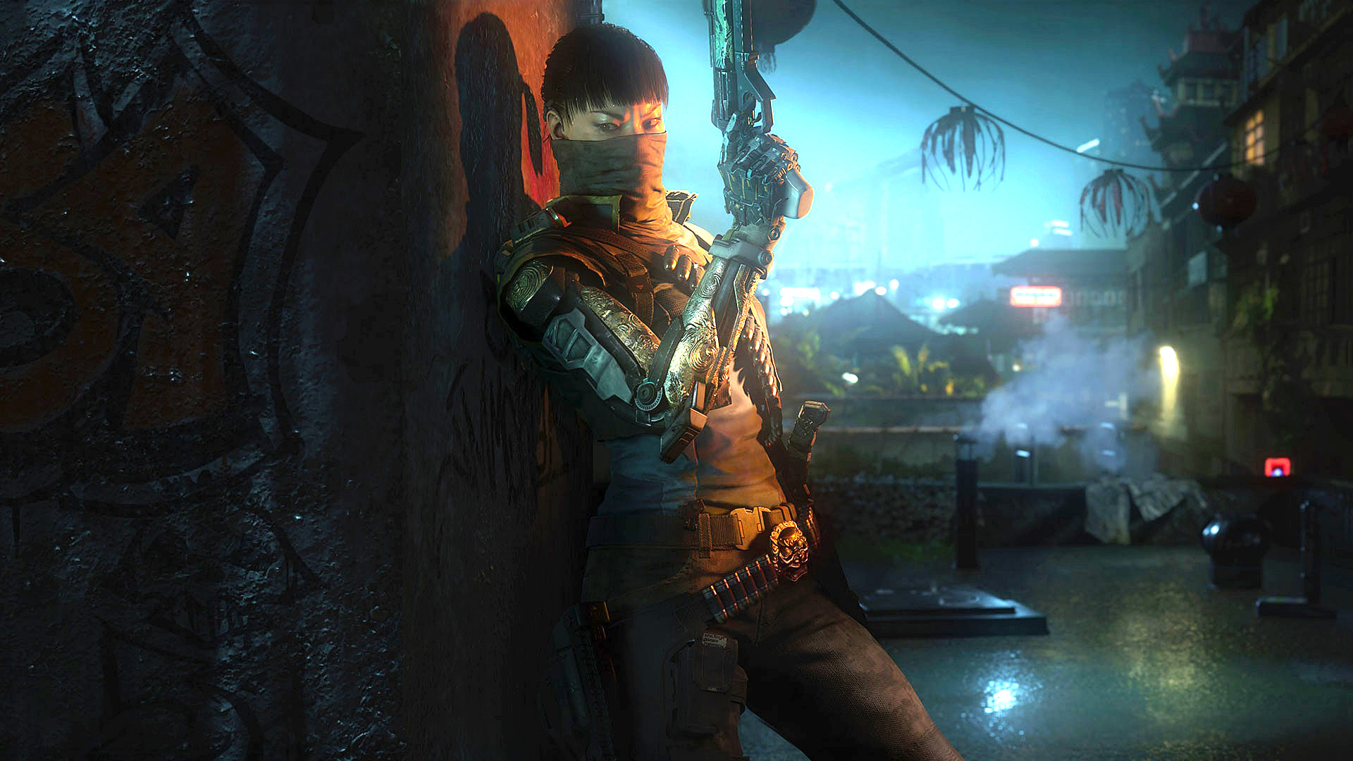 Seraph Call of Duty Black Ops 3 Specialist Girl Soldier