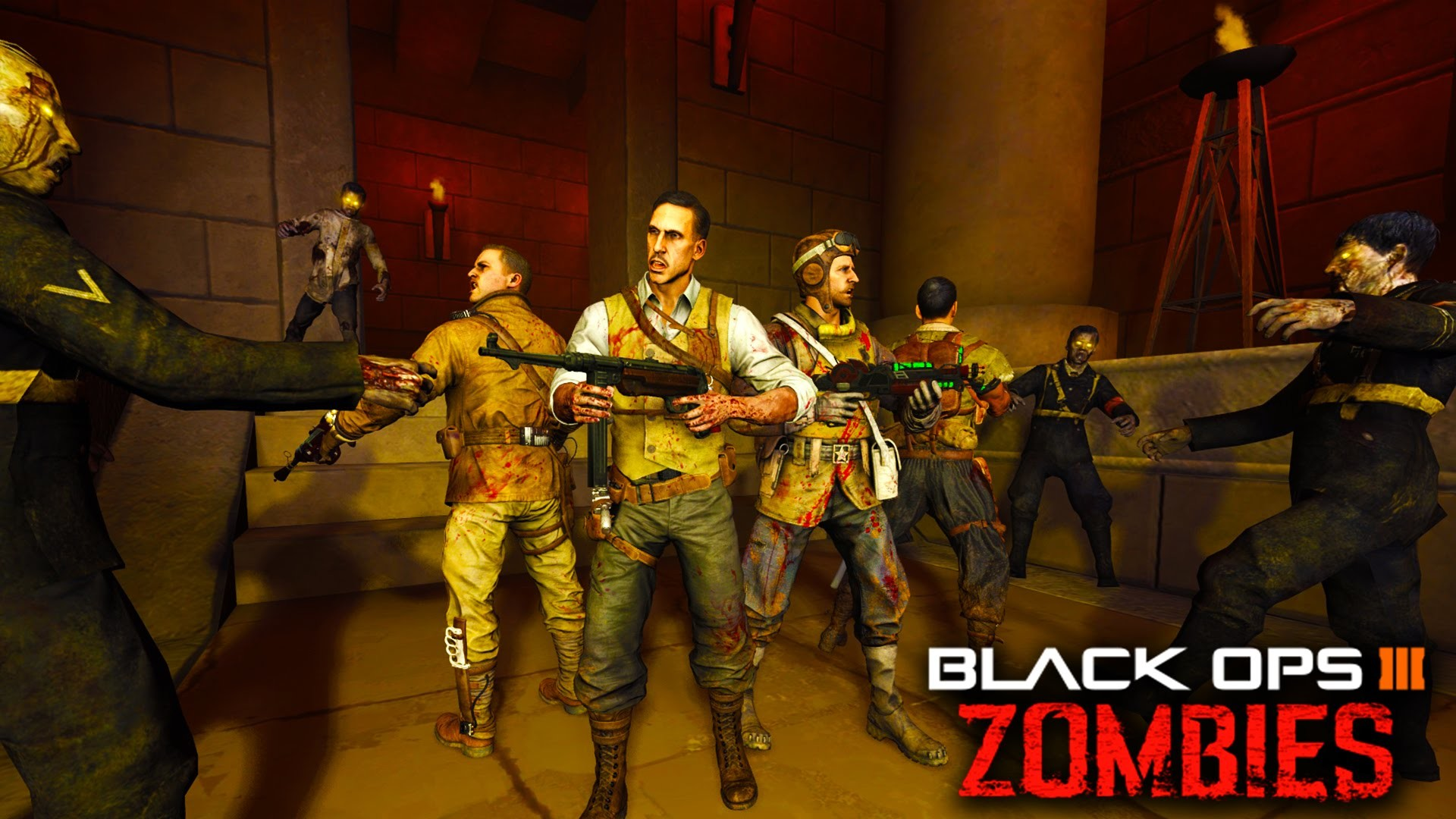 """Black Ops 3 ZOMBIES – DLC 4! """"New Egypt Zombies Map""""!? Mummy Zombies!  Leaked Info (BO3 Map Pack 4) – YouTube"""