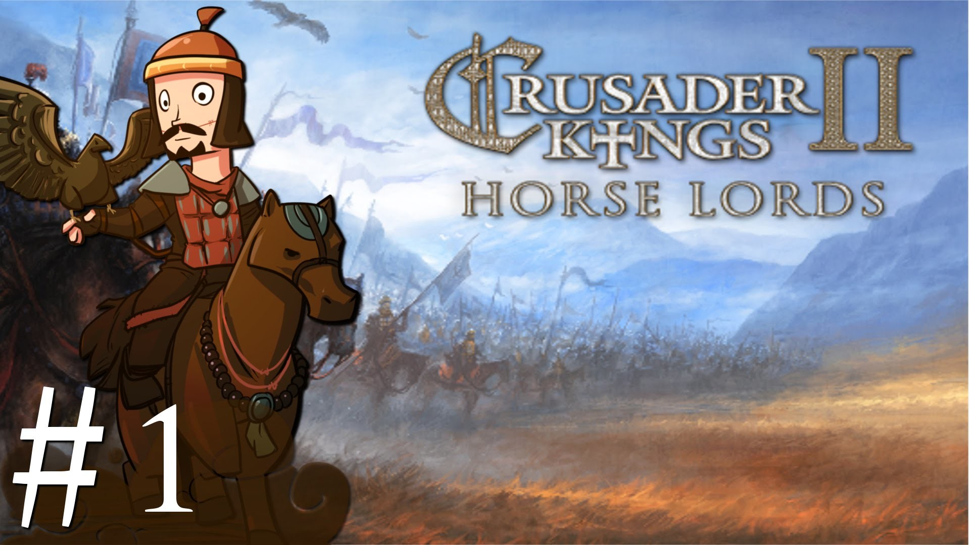 Crusader Kings 2 | CK2 | Horse Lords | Part 1 | A Horde of Hungarian  Barbarians – YouTube