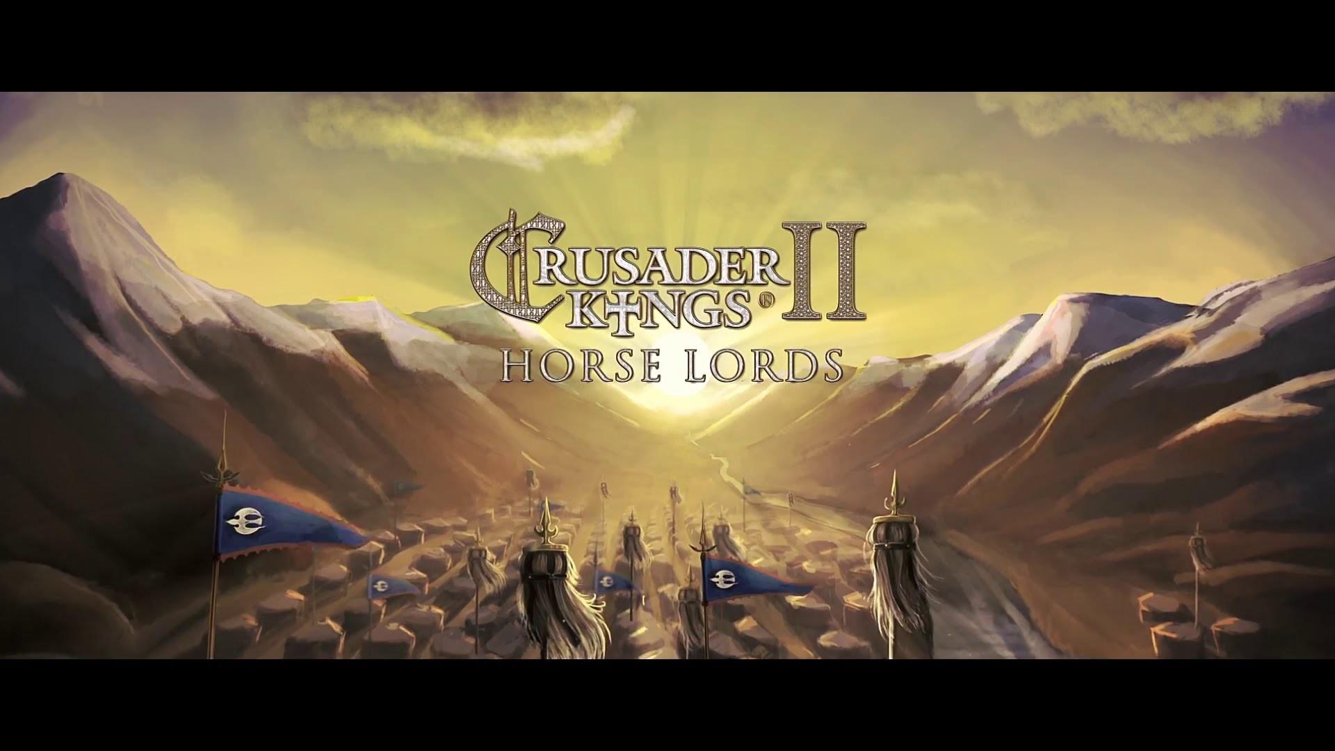 Crusader Kings II Horse Lords DLC angekündigt