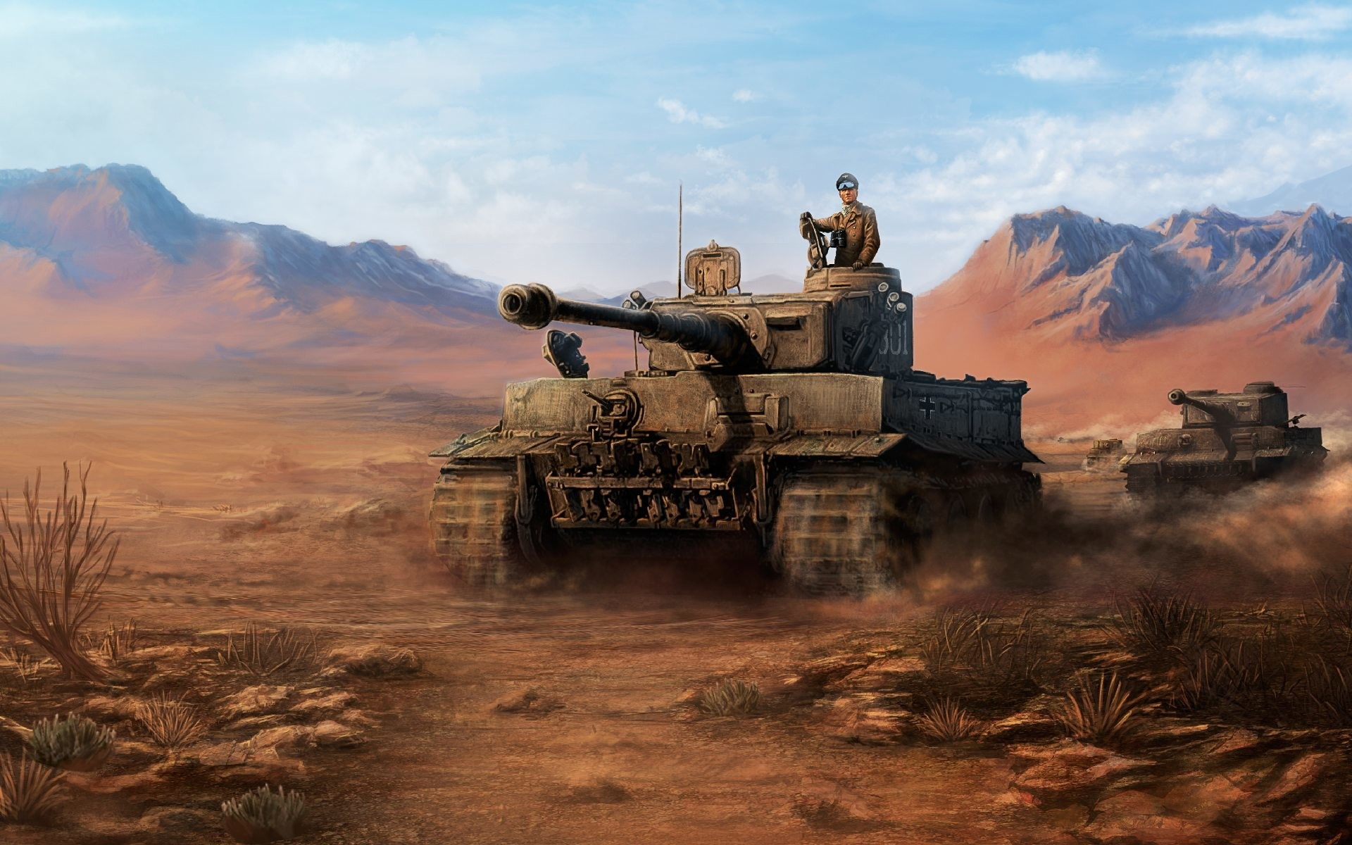 hearts of iron 4 tanks