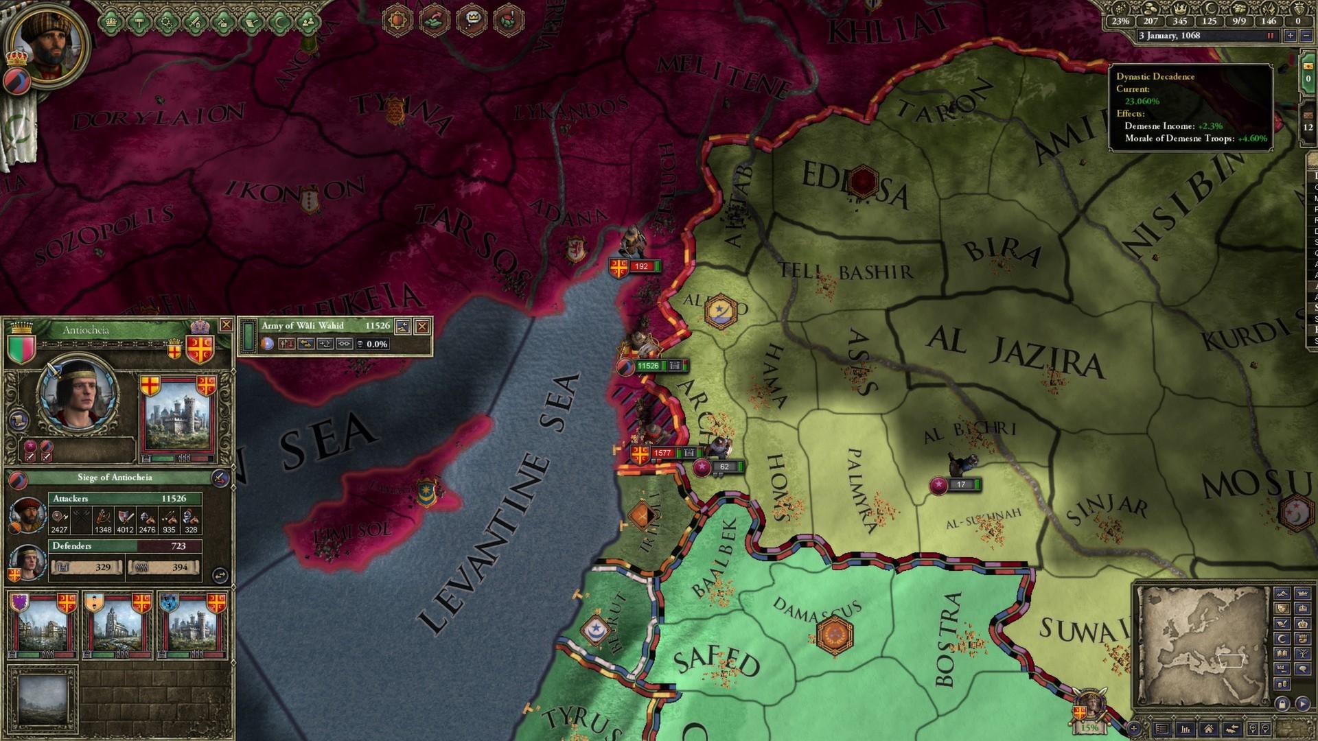 Crusader Kings II: Sword of Islam (STEAM) PC Screenshot …