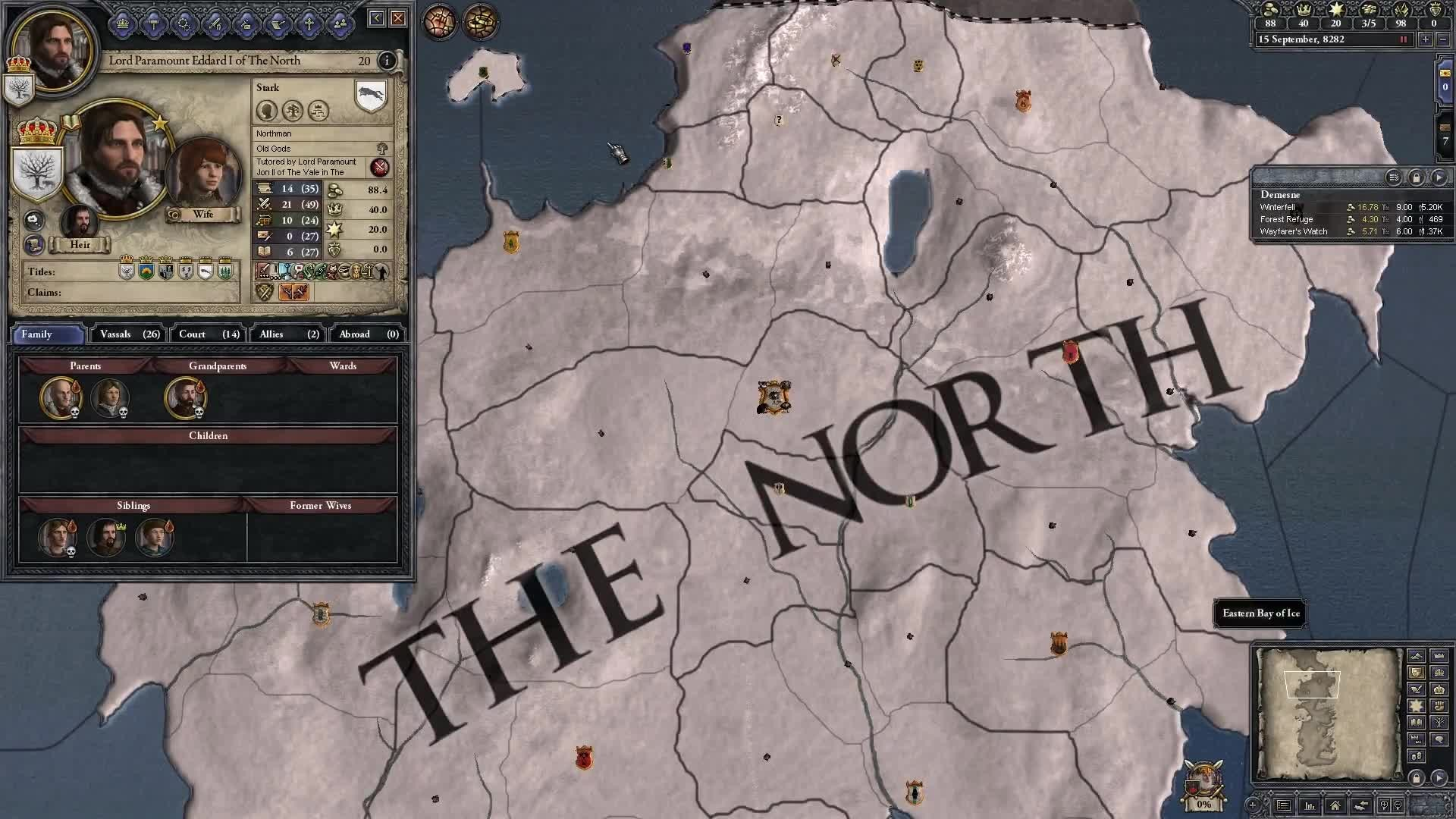 House Stark 'Let's Play' CK2:AGOT by Saithis video – Crusader Kings 2: A  Game of Thrones (CK2:AGOT) mod for Crusader Kings II – Mod DB