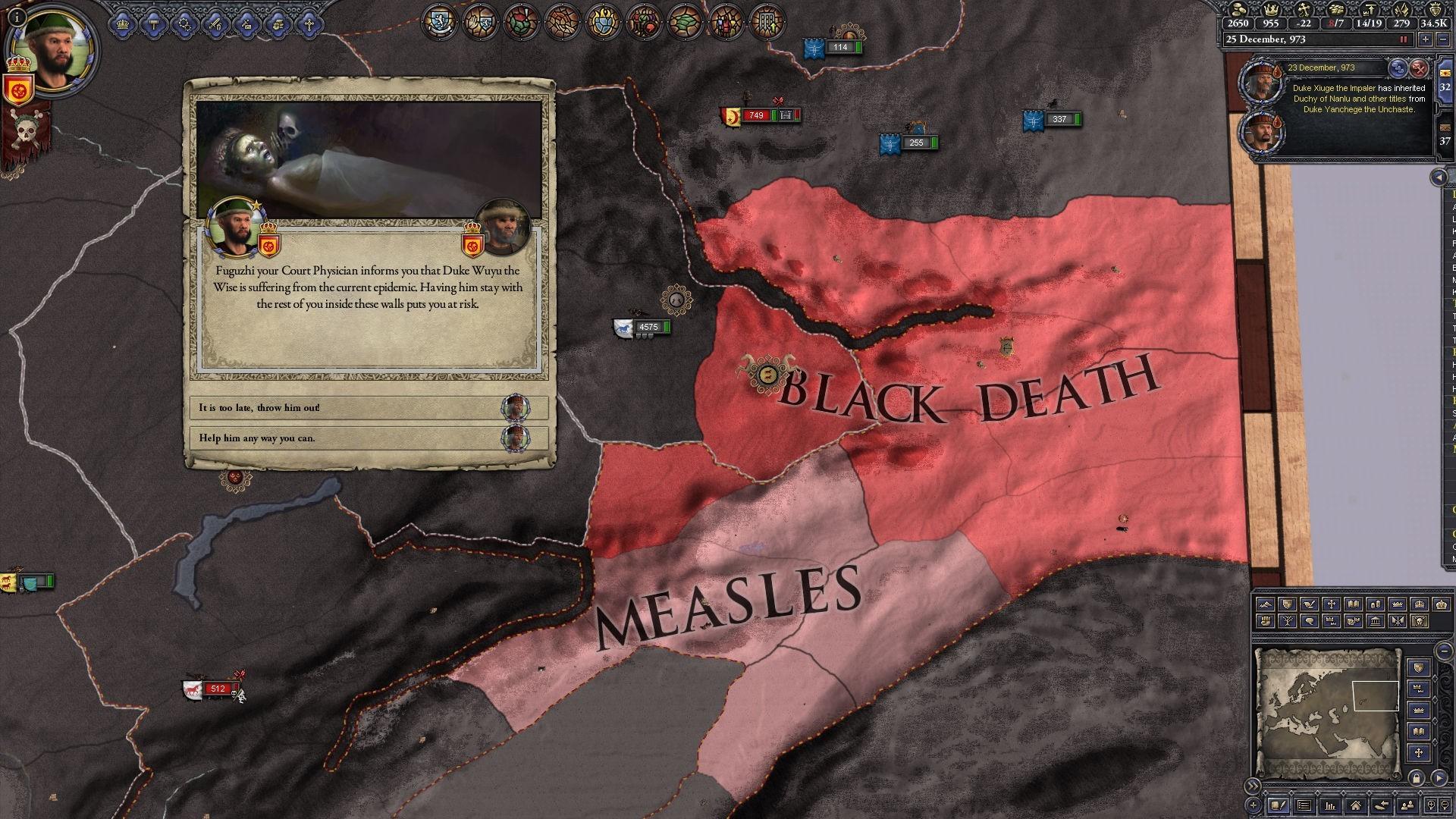 2 The plague hits Crusader Kings II in upcoming DLC