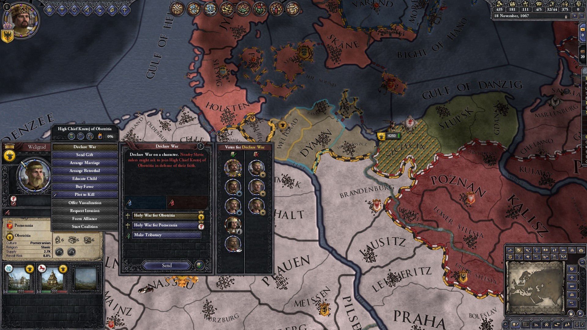 In this venomous world of Conclave, you'll want to keep your council happy,  so the vassals don't go against your faction and start a civil war.