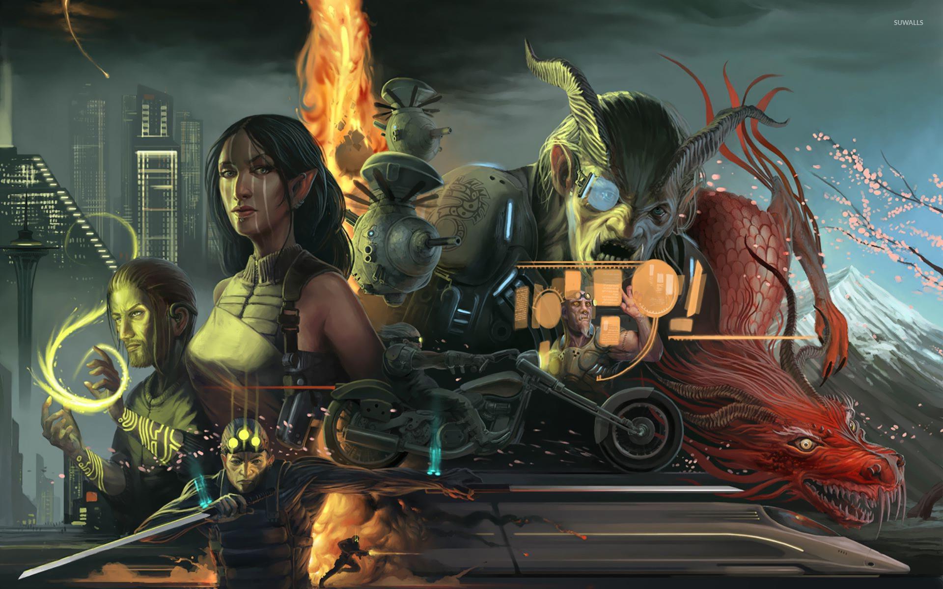 Shadowrun Returns Wallpaper