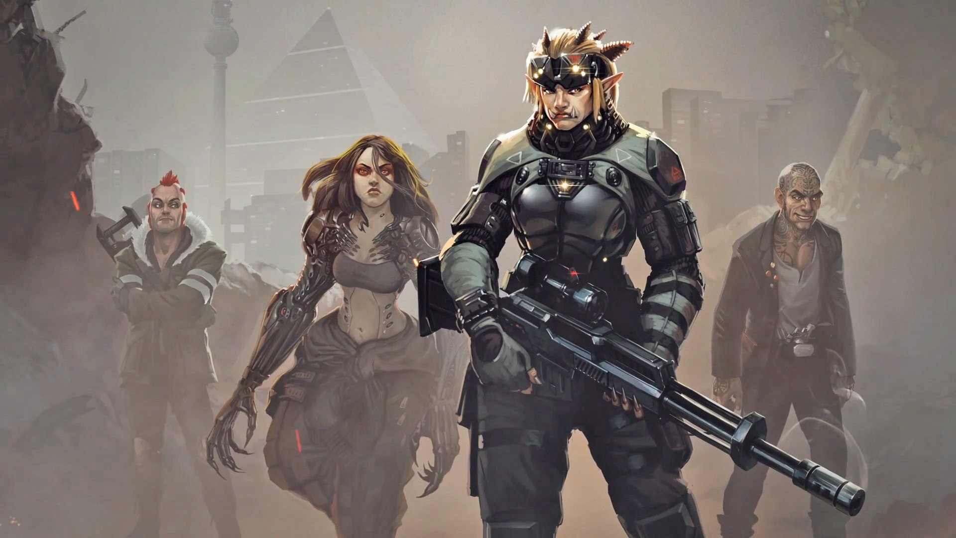 SHADOWRUN cardgame game mmo online fantasy sci-fi warrior fighting  cyberpunk shooter (8) wallpaper | | 348422 | WallpaperUP