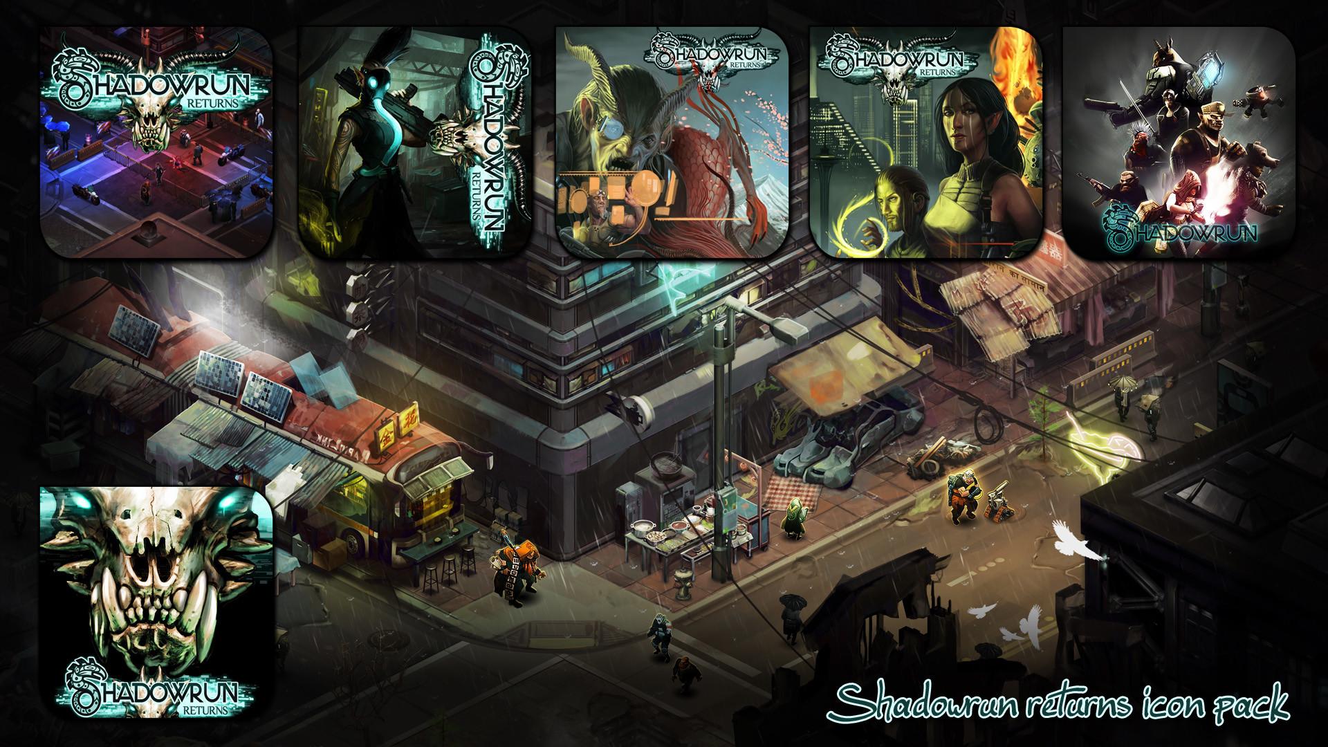Shadowrun Returns icon pack by Kalca Shadowrun Returns icon pack by Kalca