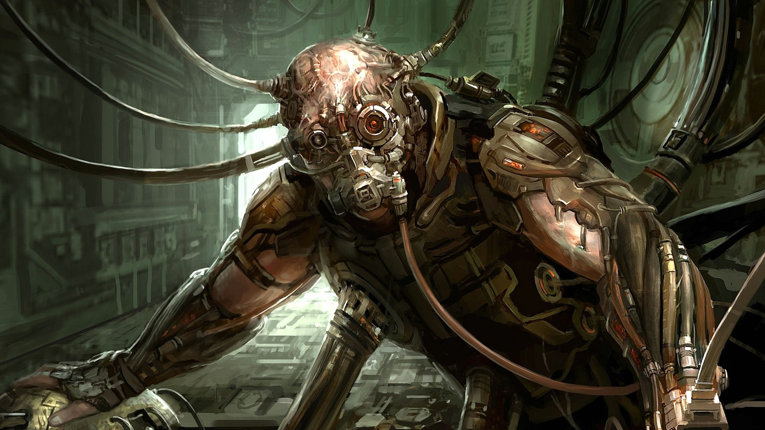 Image result for cyberpunk cyborgs