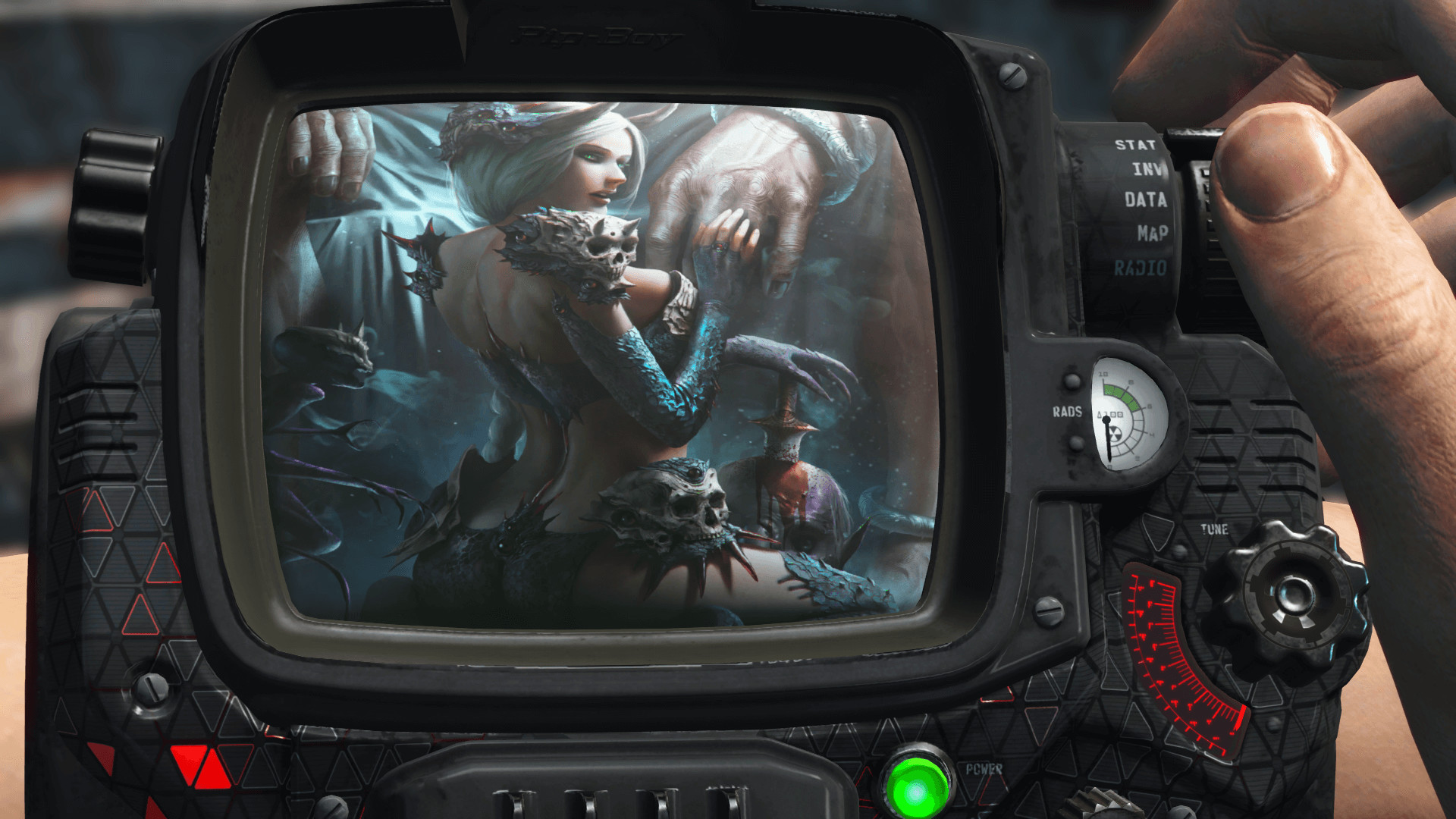 Alternative Sexy Pip-Boy Screen at Fallout 4 Nexus – Mods and community