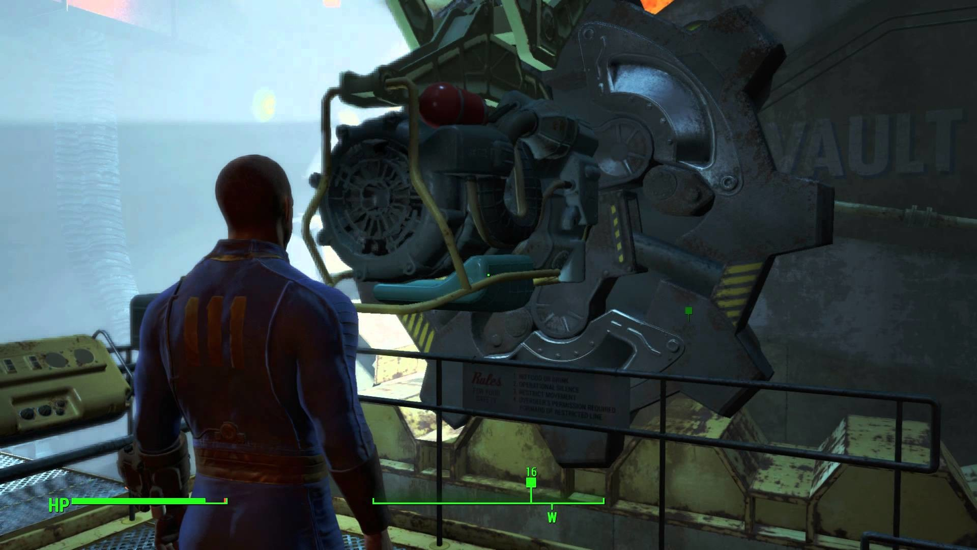 Fallout 4 – Out of Time: Sole Survivor Opens Vault 111's Door Pip Boy The  Light Sequence PS4 – YouTube
