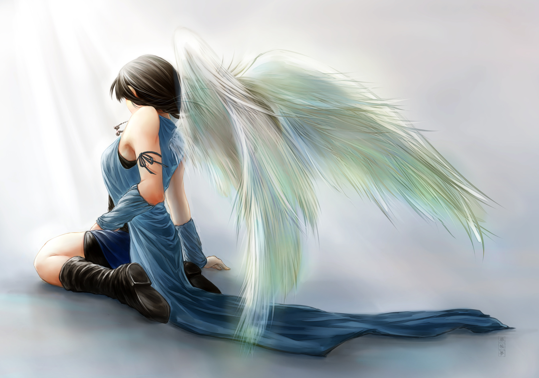 Final Fantasy VIII Rinoa Heartilly angel angels wallpaper | .