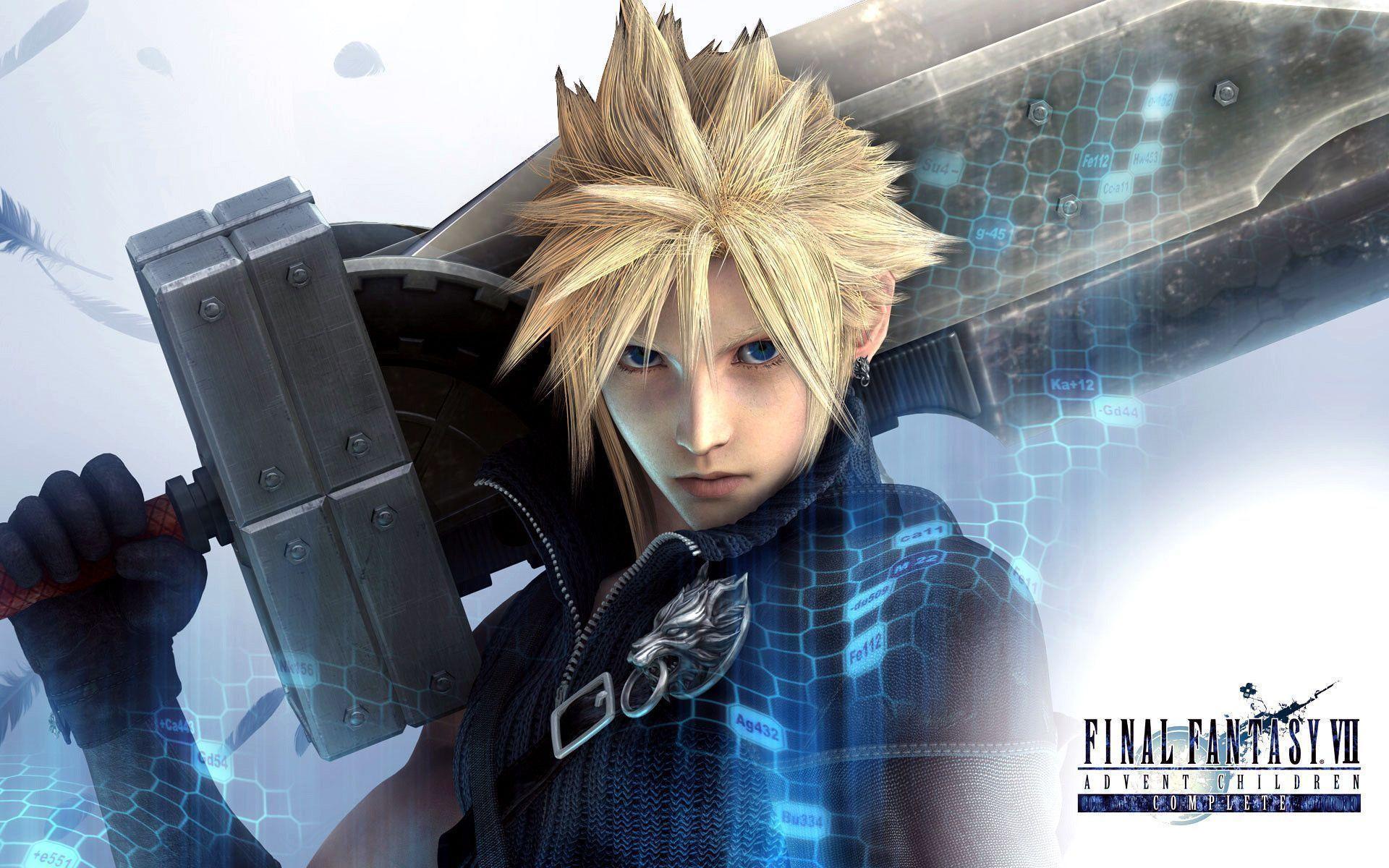 Image – Cloud Wallpaper.jpg – The Final Fantasy Wiki has more .