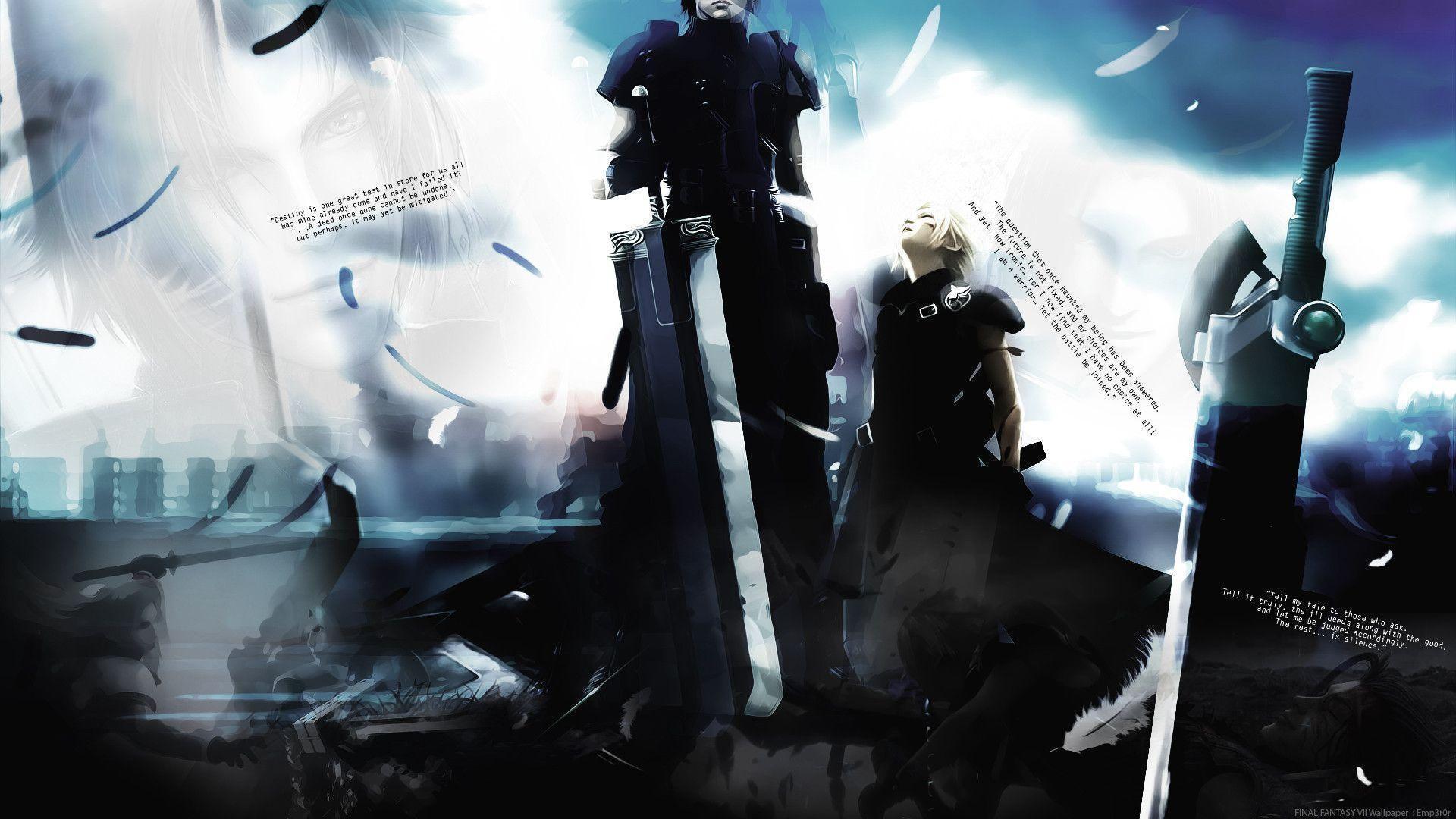 Wallpapers For > Final Fantasy 7 Wallpaper Hd