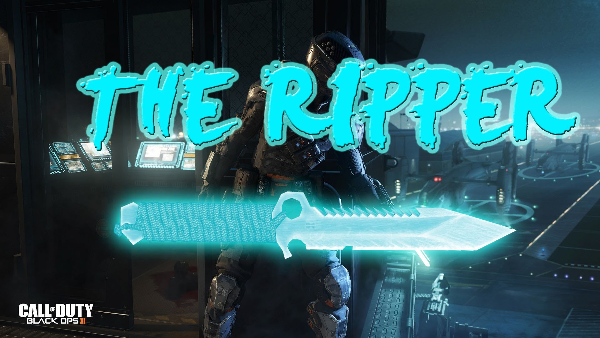 Black Ops 3 Knifing! THE RIPPER!!! NEW Spectre Knife!