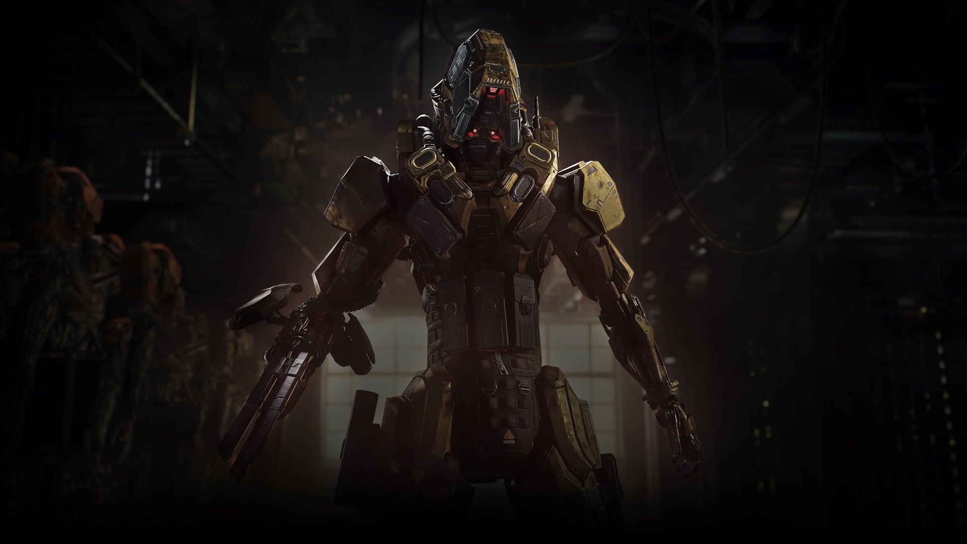 New hi-res images for the (8) known Black Ops 3 Specialist found