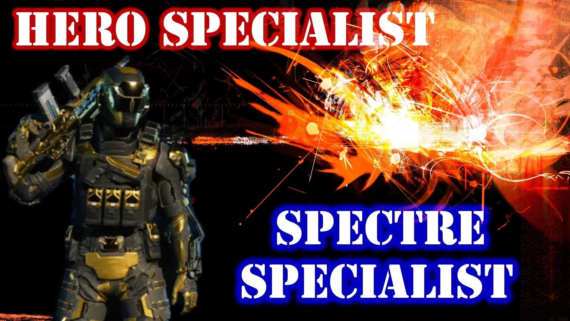 How To Unlock Hero Specialist! Hero Gold Spectre Specialist! Black Ops 3! –  YouTube