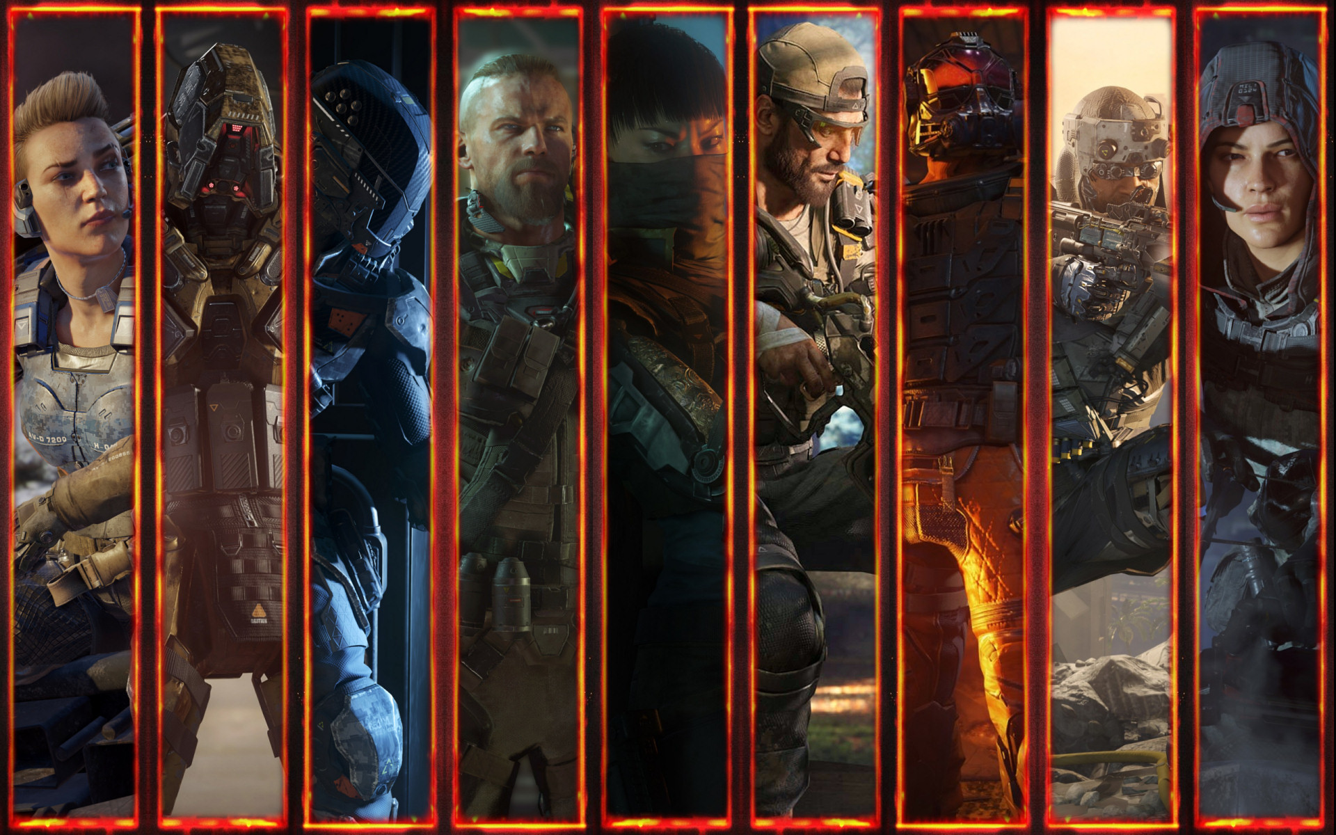 BO3 Borders: 1440p and 1200p and 1080p