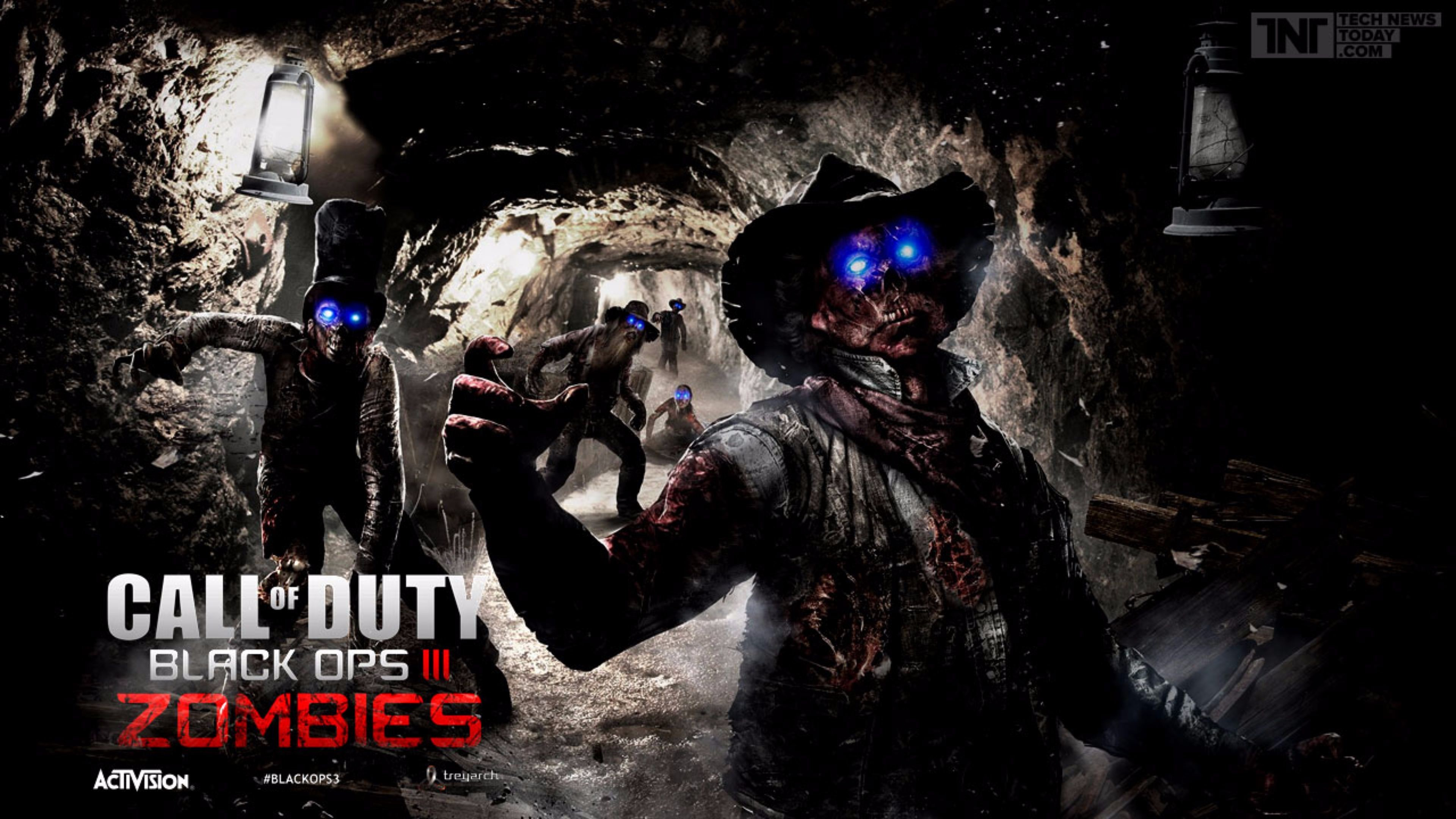 New Zombies Call of Duty Black Ops 3 4K Wallpaper | Free 4K Wallpaper