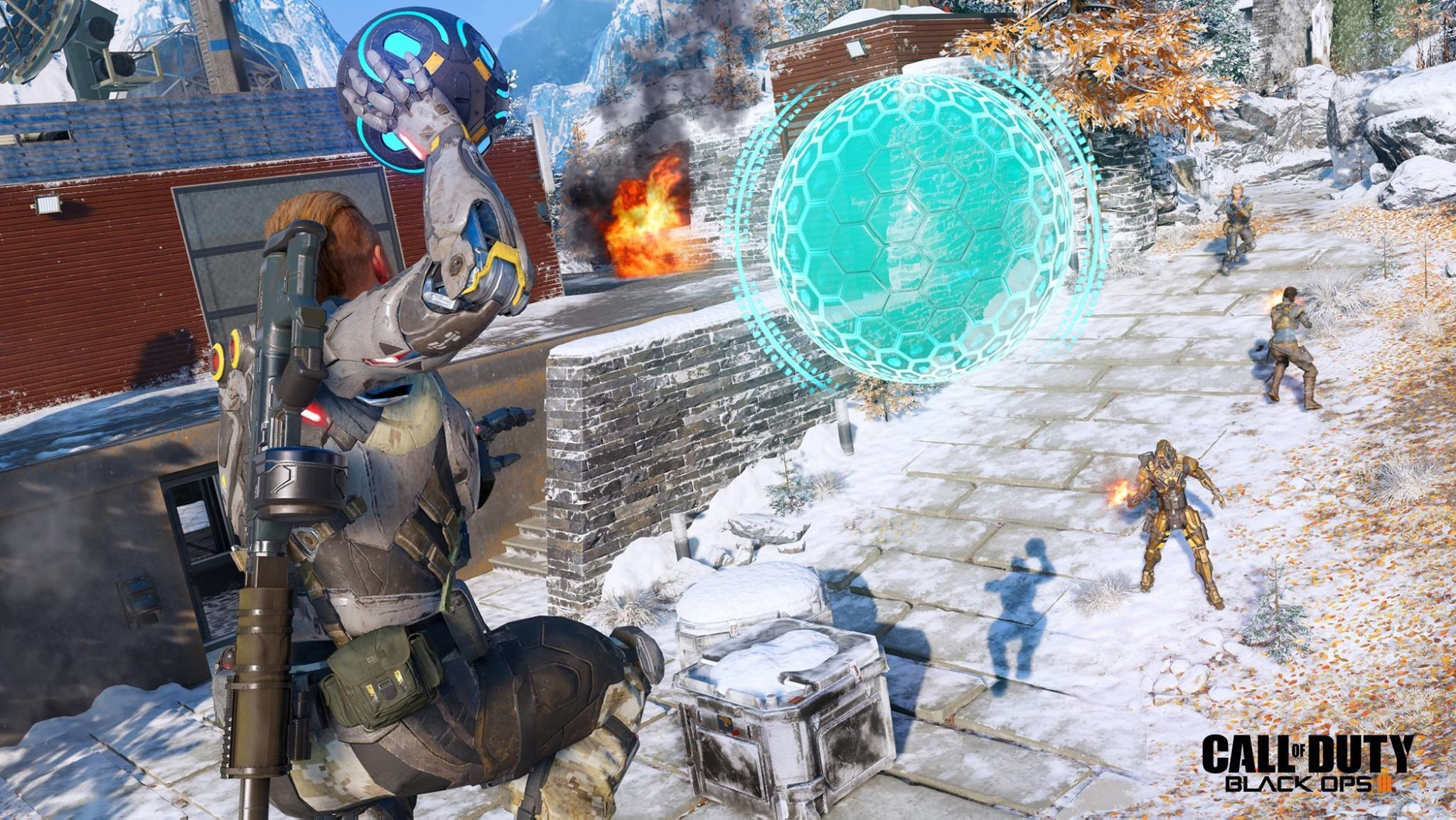 Black Ops 3 New Screenshots and Wallpaper