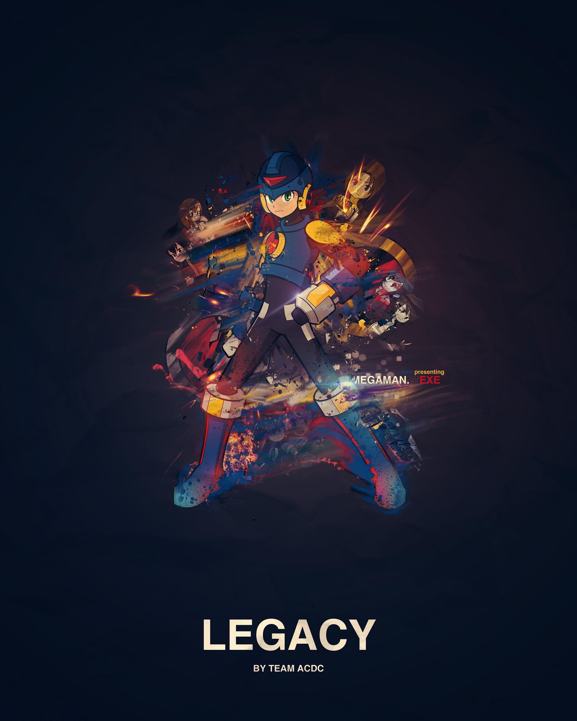 … Mega Man Battle Network Legacy by Crazed-Artist