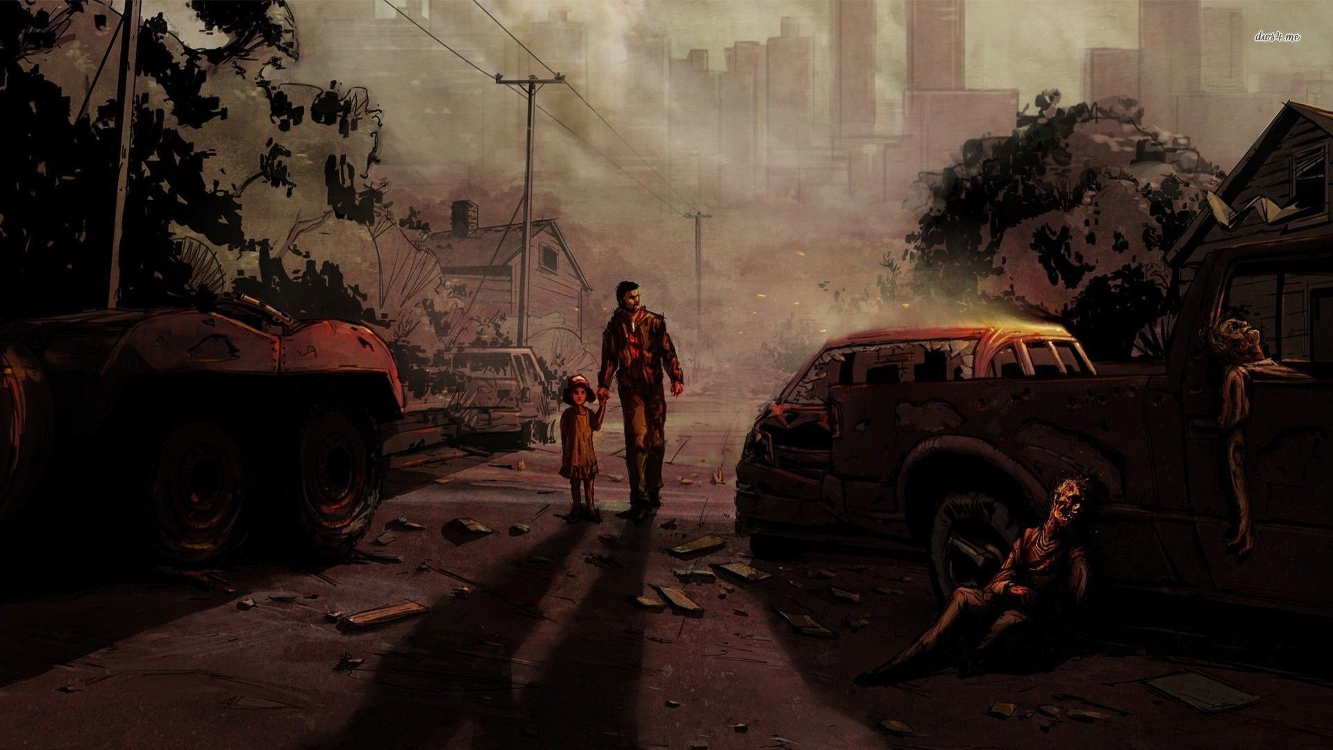 The Walking Dead Game Wallpapers – Wallpaper Cave