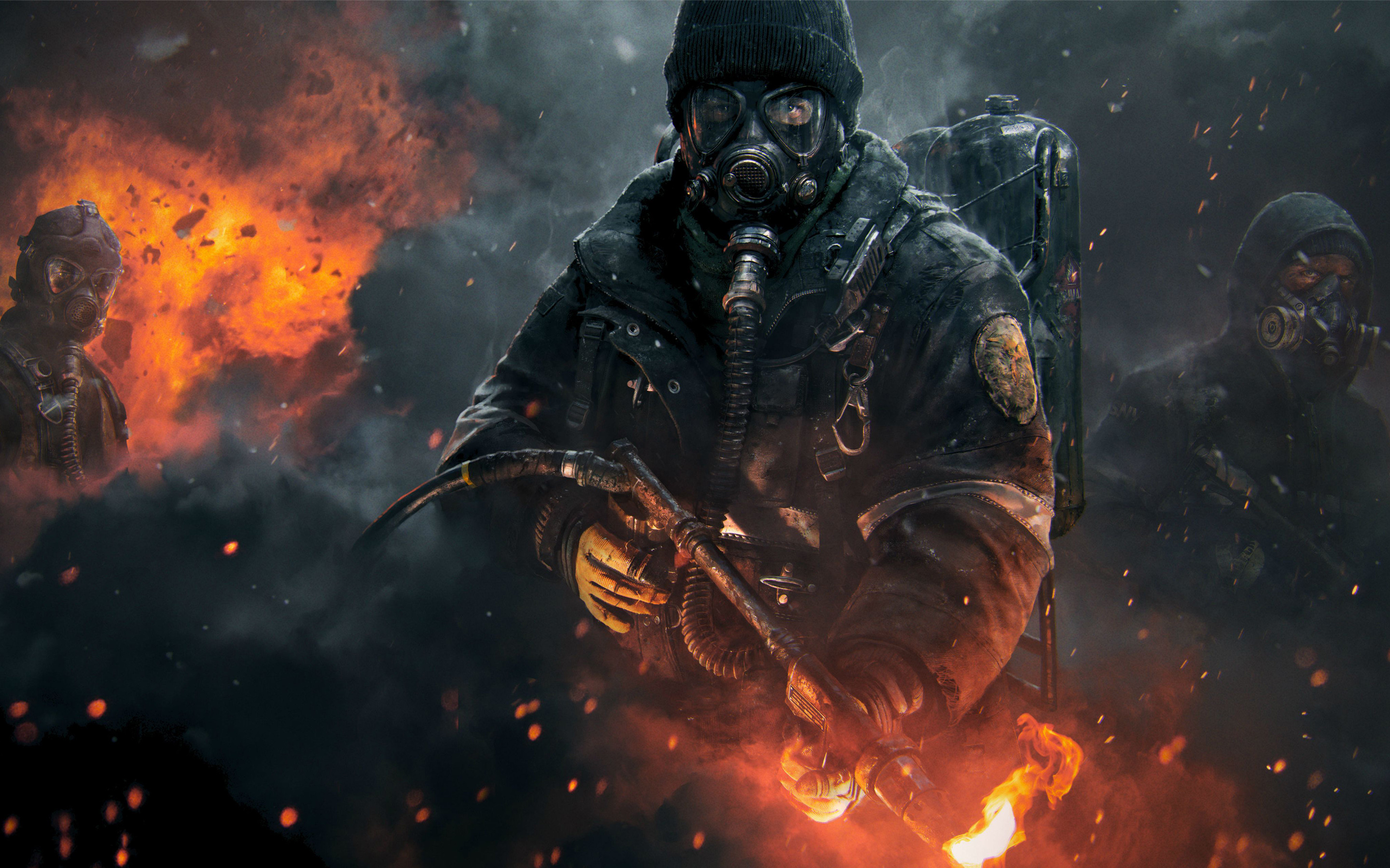 """The Division – Official """"Dark Zone"""" Gameplay Trailer – 2015. Find this Pin  and more on HD Desktop Wallpapers …"""
