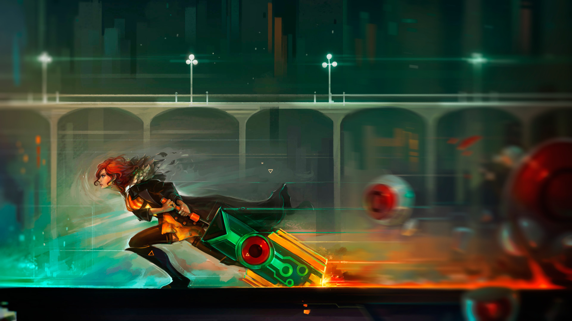 Transistor, Video Games, Red (Transistor) Wallpapers HD / Desktop and  Mobile Backgrounds