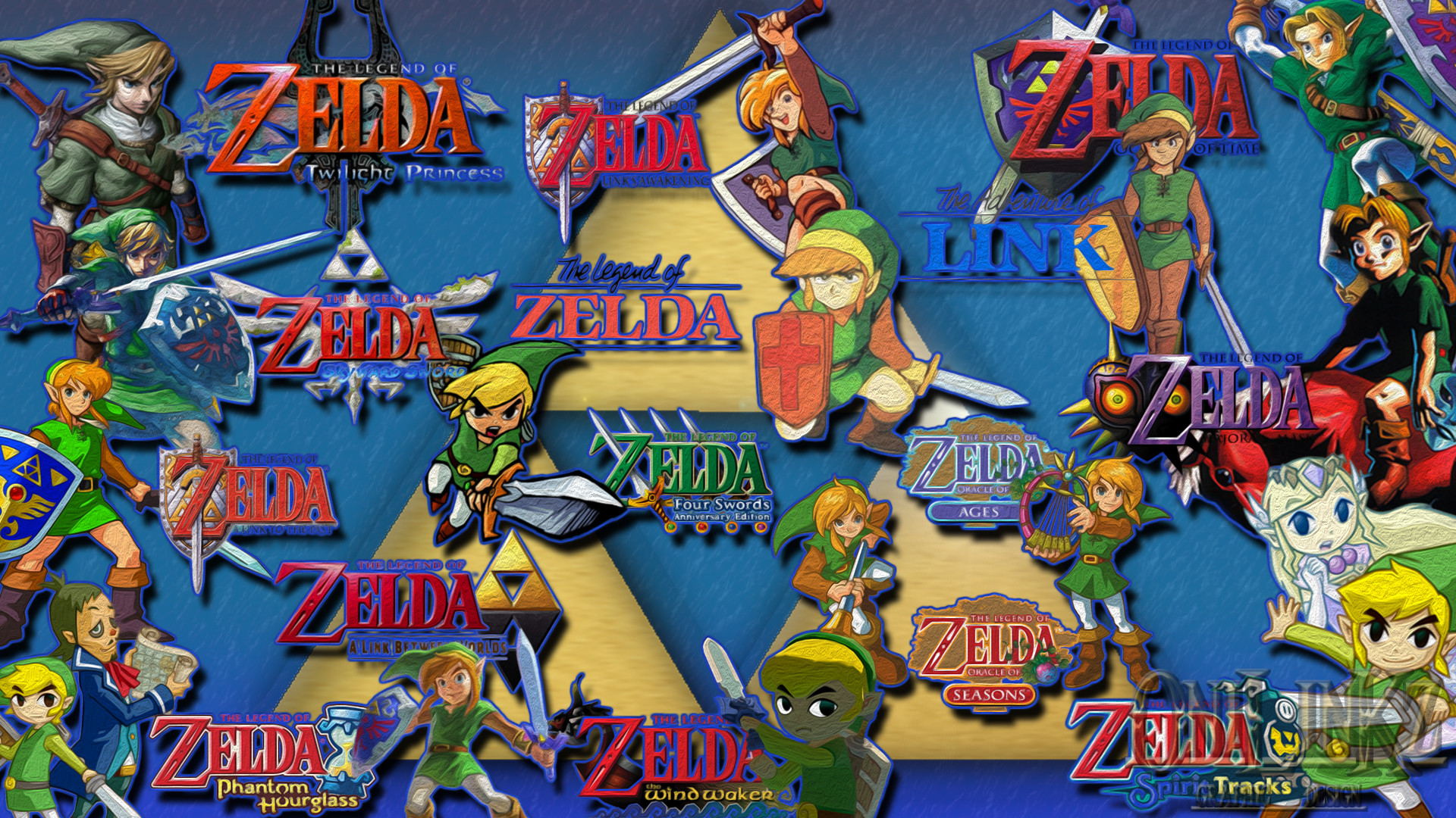 Zelda Wallpaper 1080p Link's history by 0nilinkz Zelda Wallpaper 1080p  Link's history by 0nilinkz