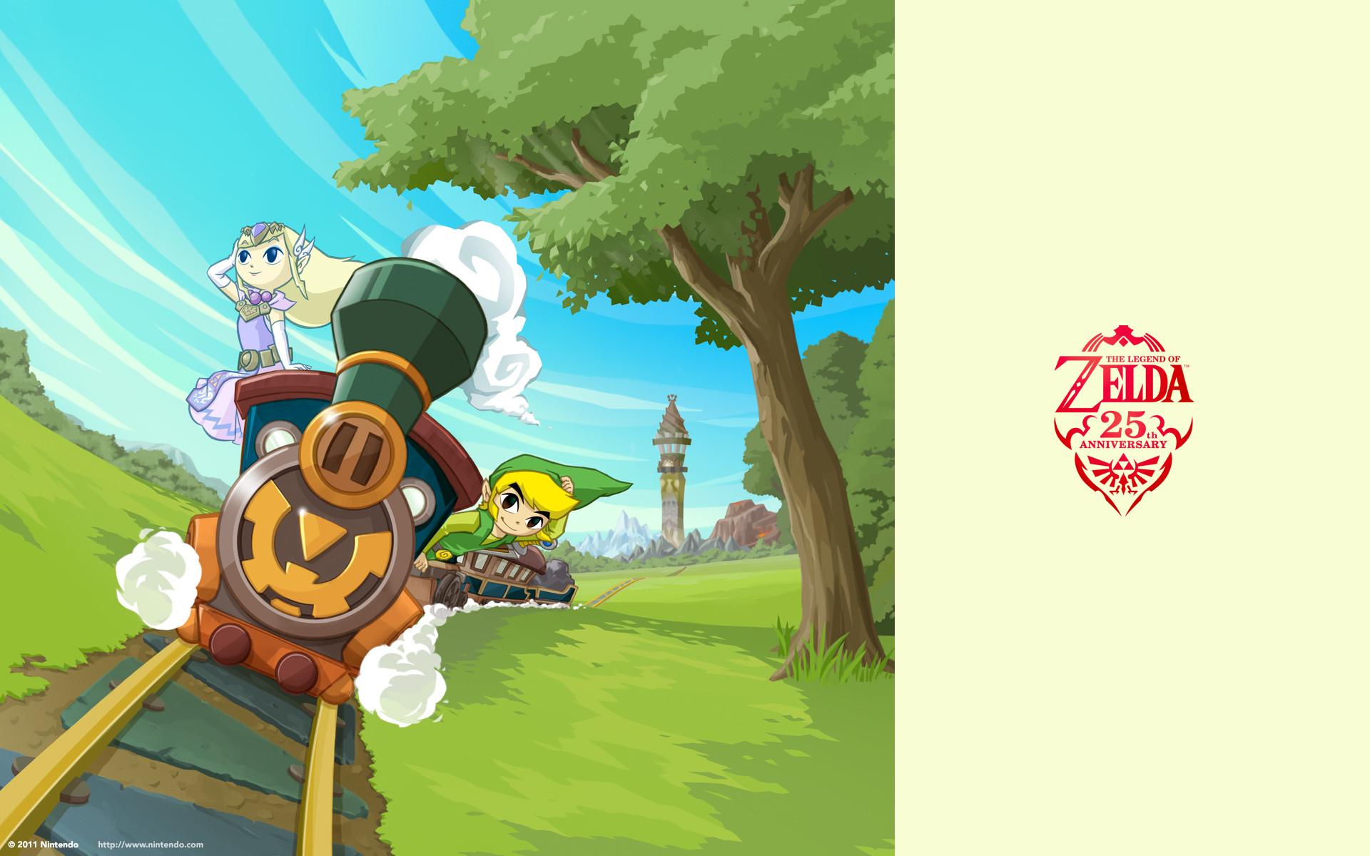 The Legend of Zelda Wallpaper (Spirit Tracks) – I'm On A Train