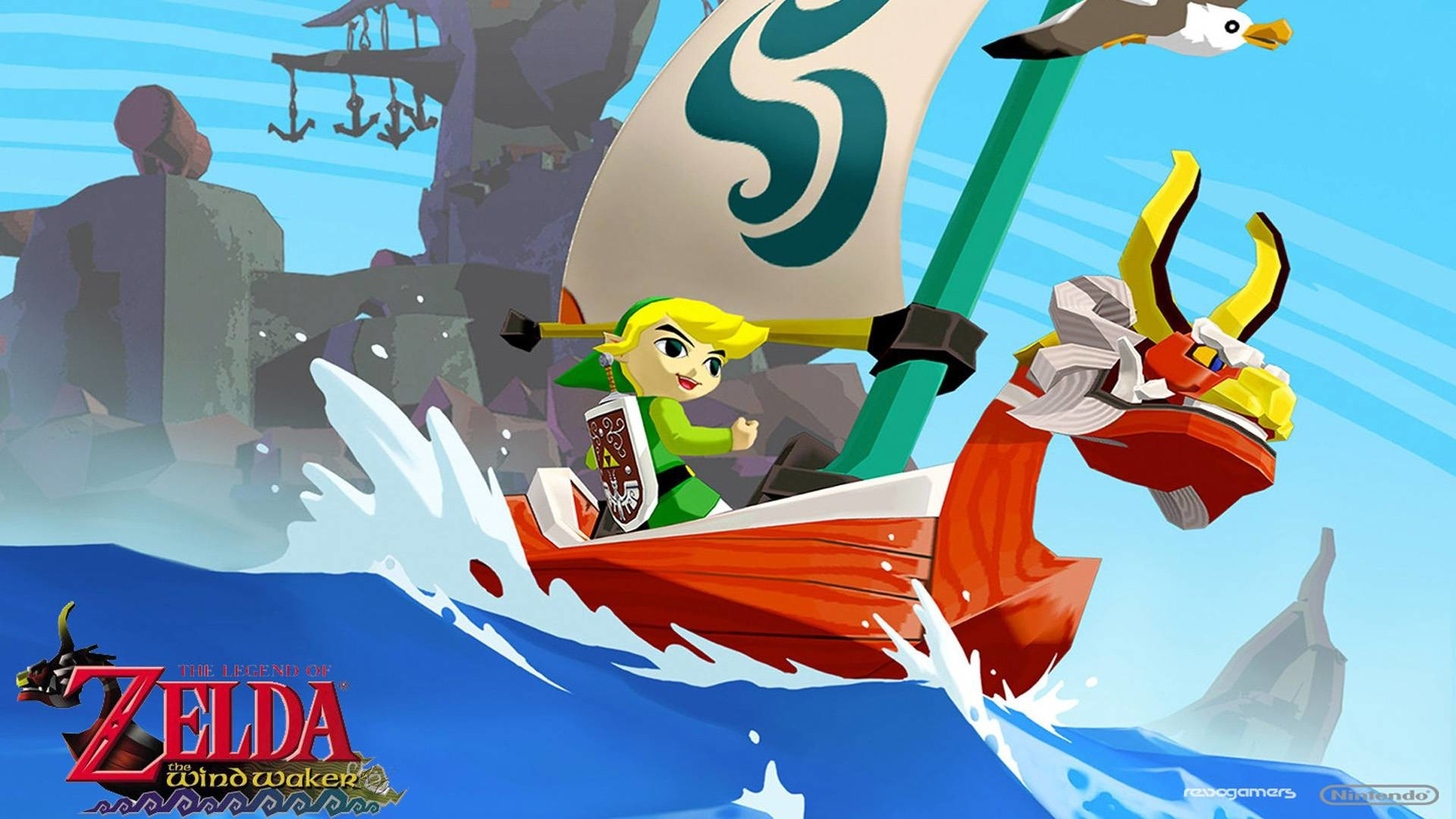 The Legend Of Zelda: The Wind Waker Hd Computer Wallpapers .