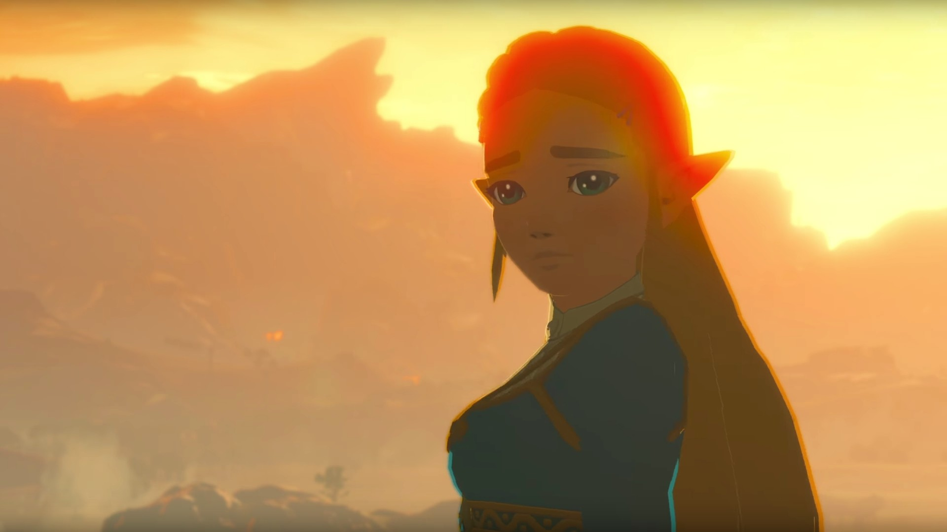 Fan ArtDIY – Zelda Breath of the Wild, Wallpapers from Switch Trailer (1080p)  – Gallery link in the comments.