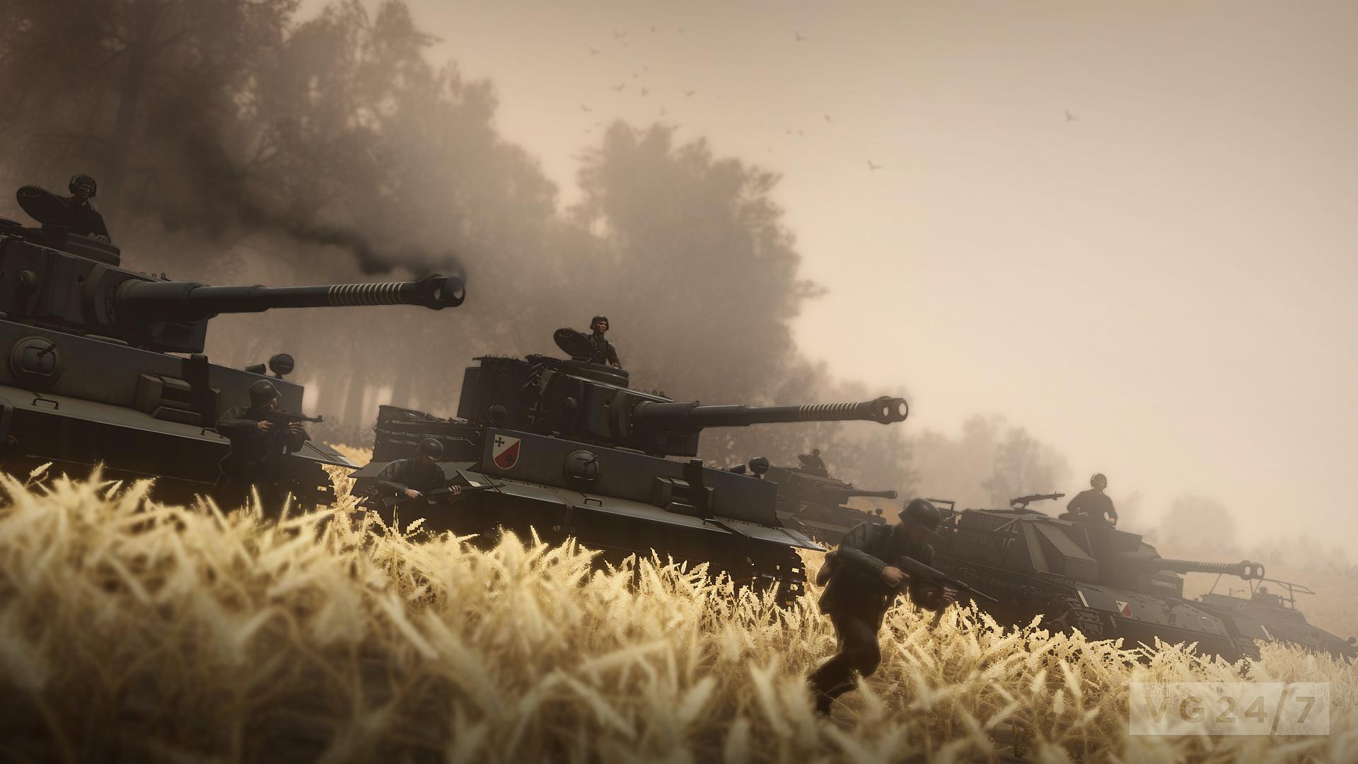 9550HandG_Action_Screenshot_GDC_03. 9551Heroes_And_Generals_FPS_Day.  9552Heroes_And_Generals_Map_view. 9553Heroes_And_Generals_Tiger_Tank_Attack