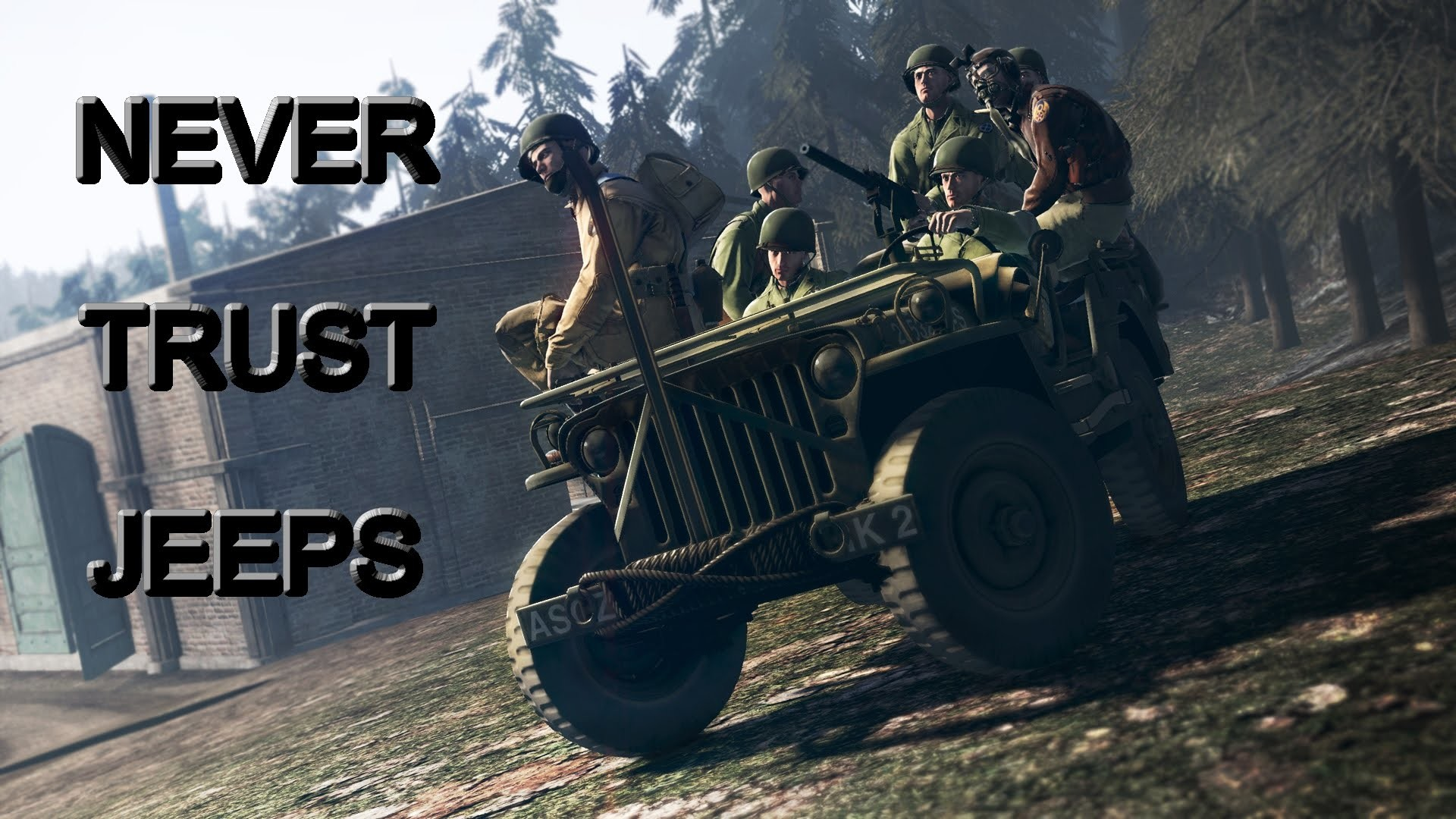 Heroes and Generals – NEVER TRUST JEEPS