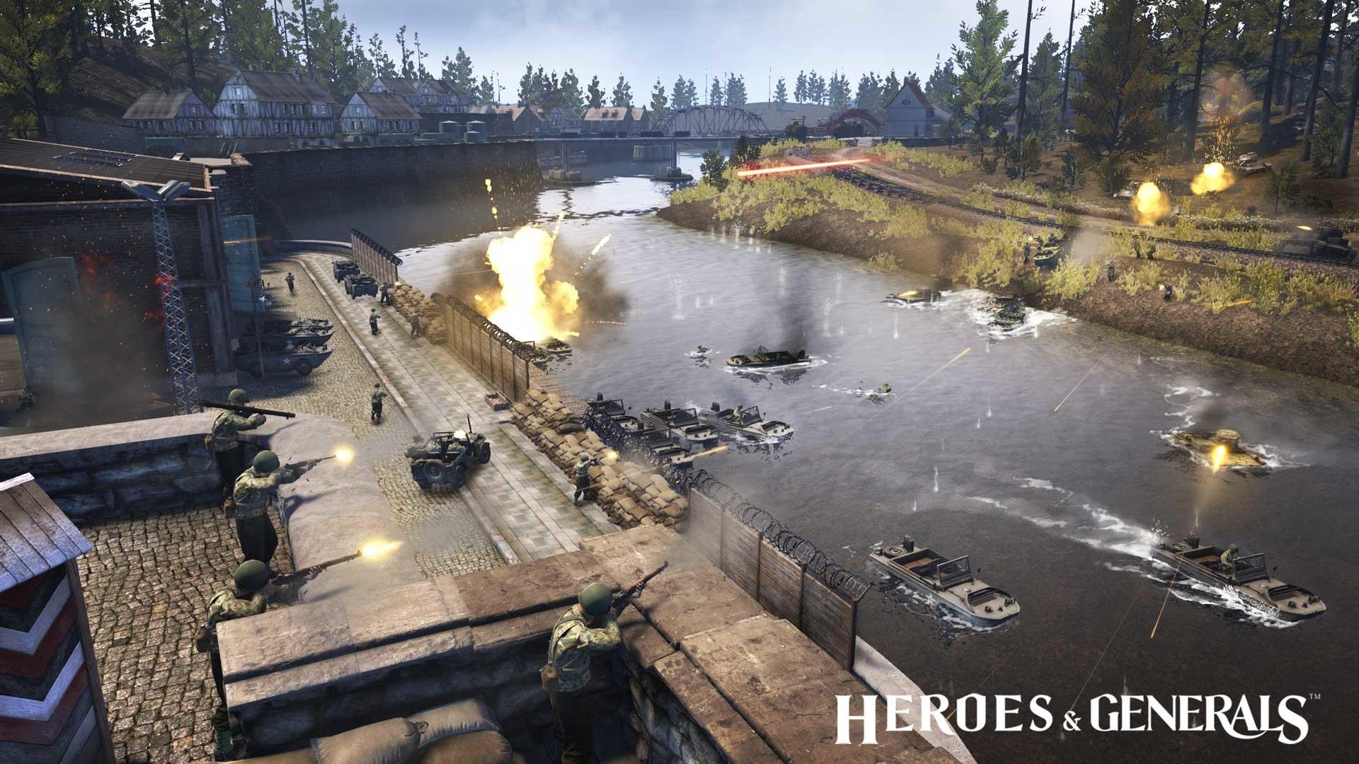 Game Overview. Heroes & Generals …