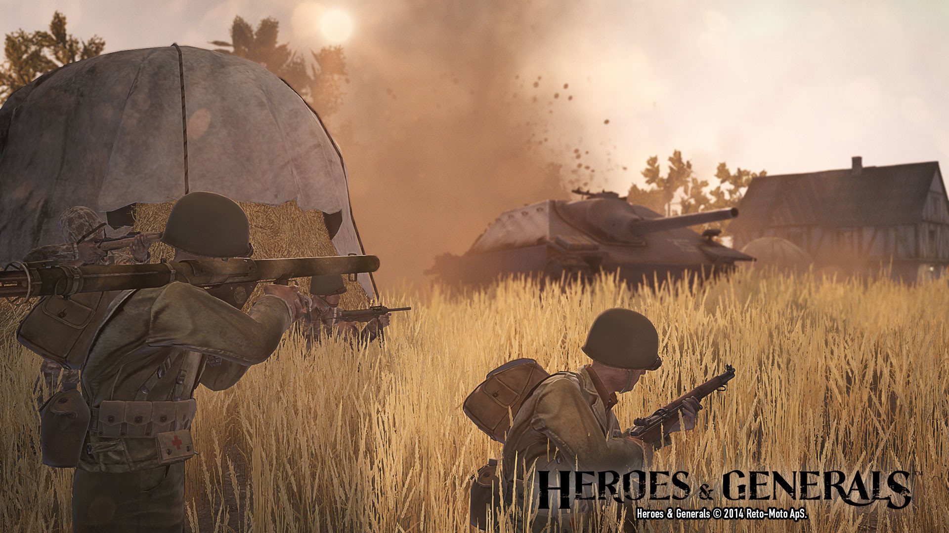 Heroes & Generals – new map, weapons and more.