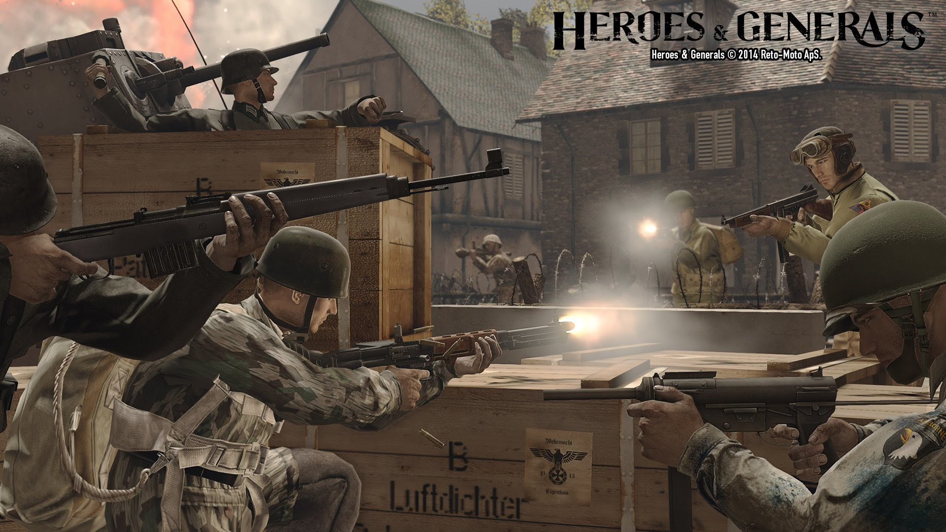 Heroes and Generals Live Commentary #1! (Heroes and Generals Gameplay)