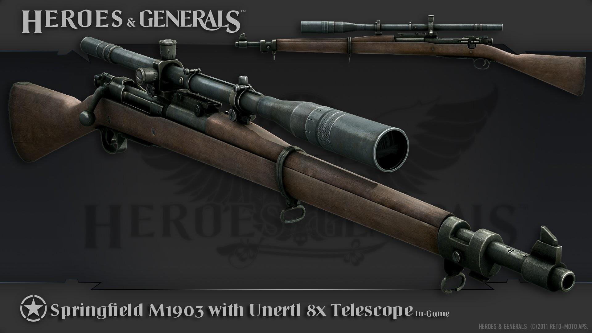 Heroes and Generals Recon Gameplay – Sniper Heaven