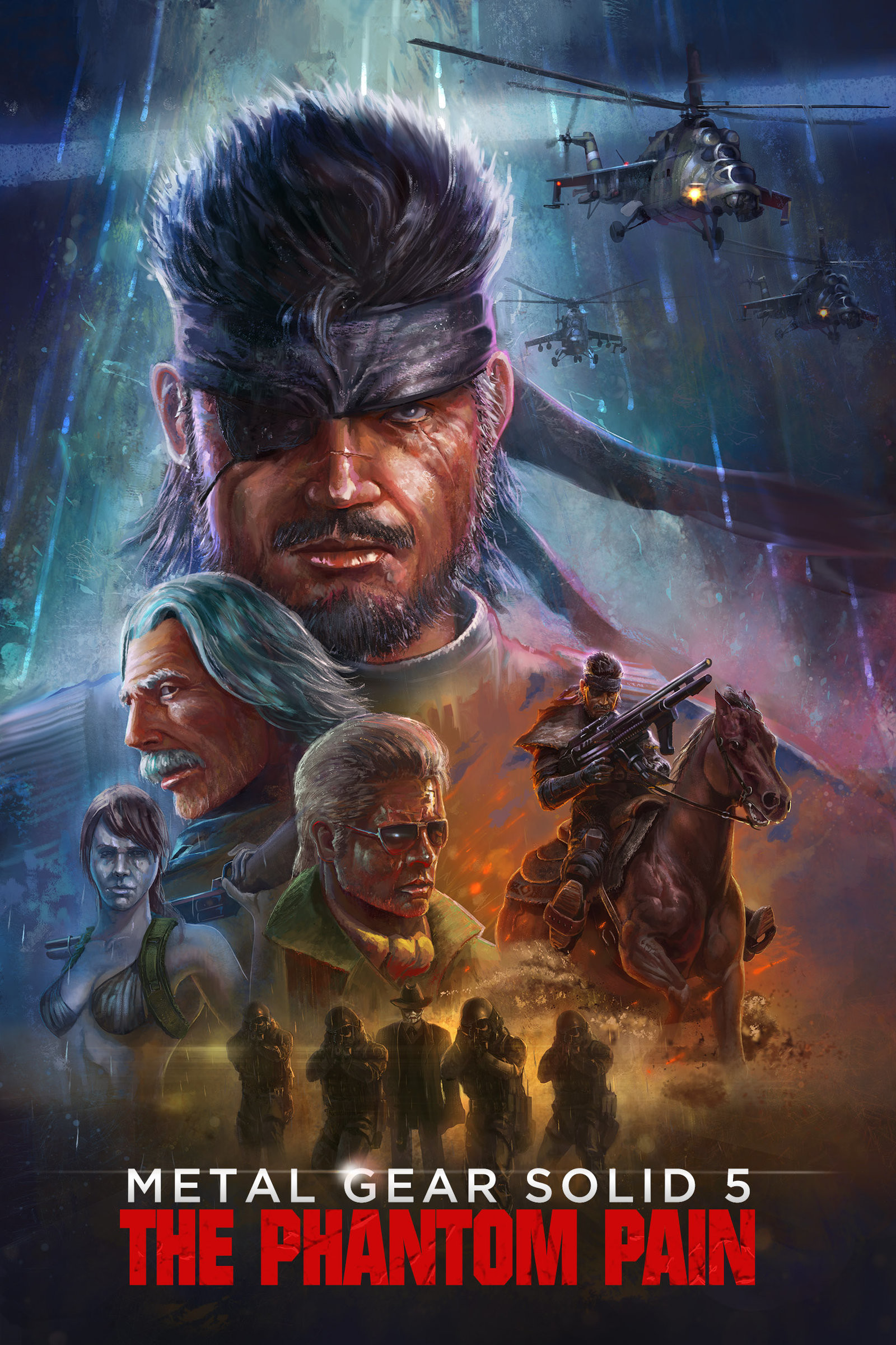 mgs 5 the vhs cover