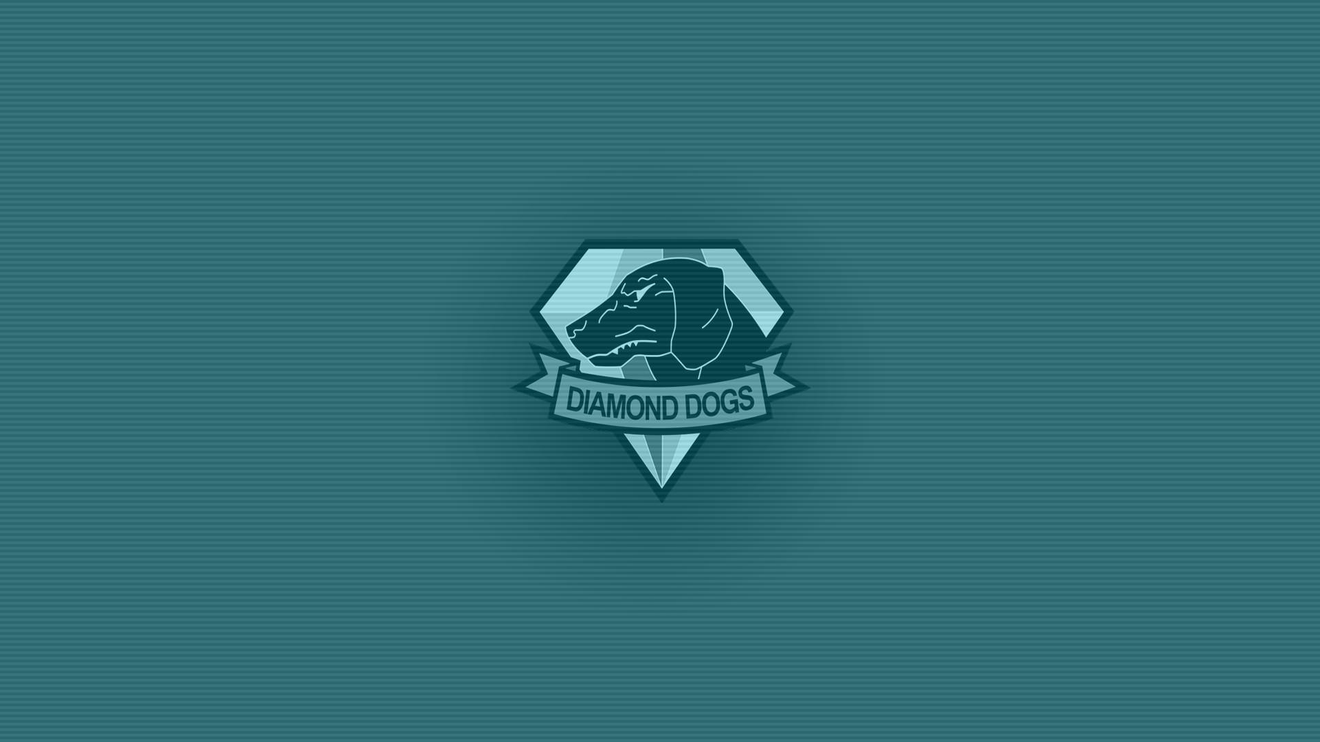 Simple Diamond Dogs Wallpaper (OC) [1920×1080] #MetalGearSolid #mgs #MGSV