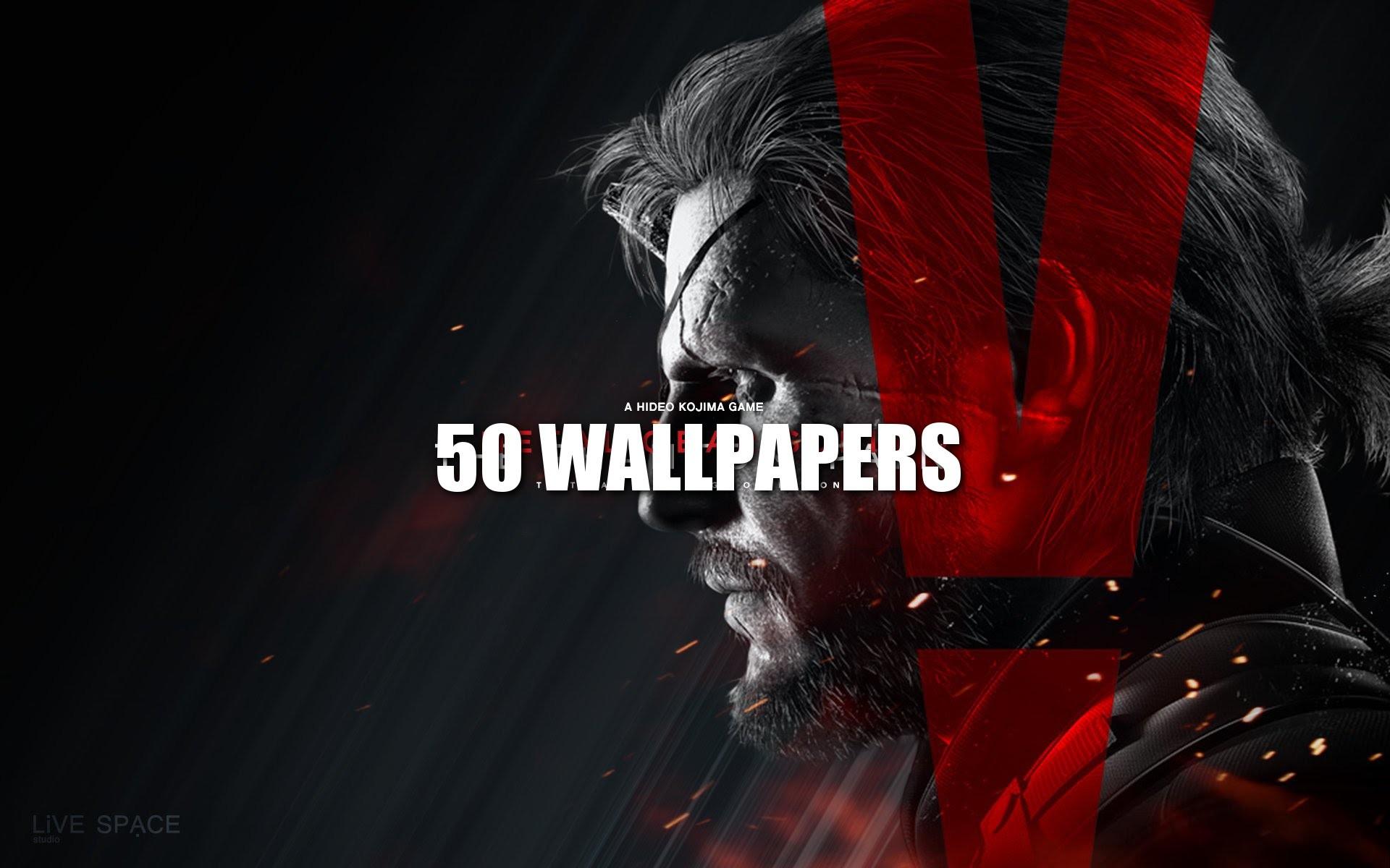 Pack 50 Wallpapers de Metal Gear Solid  1080p 