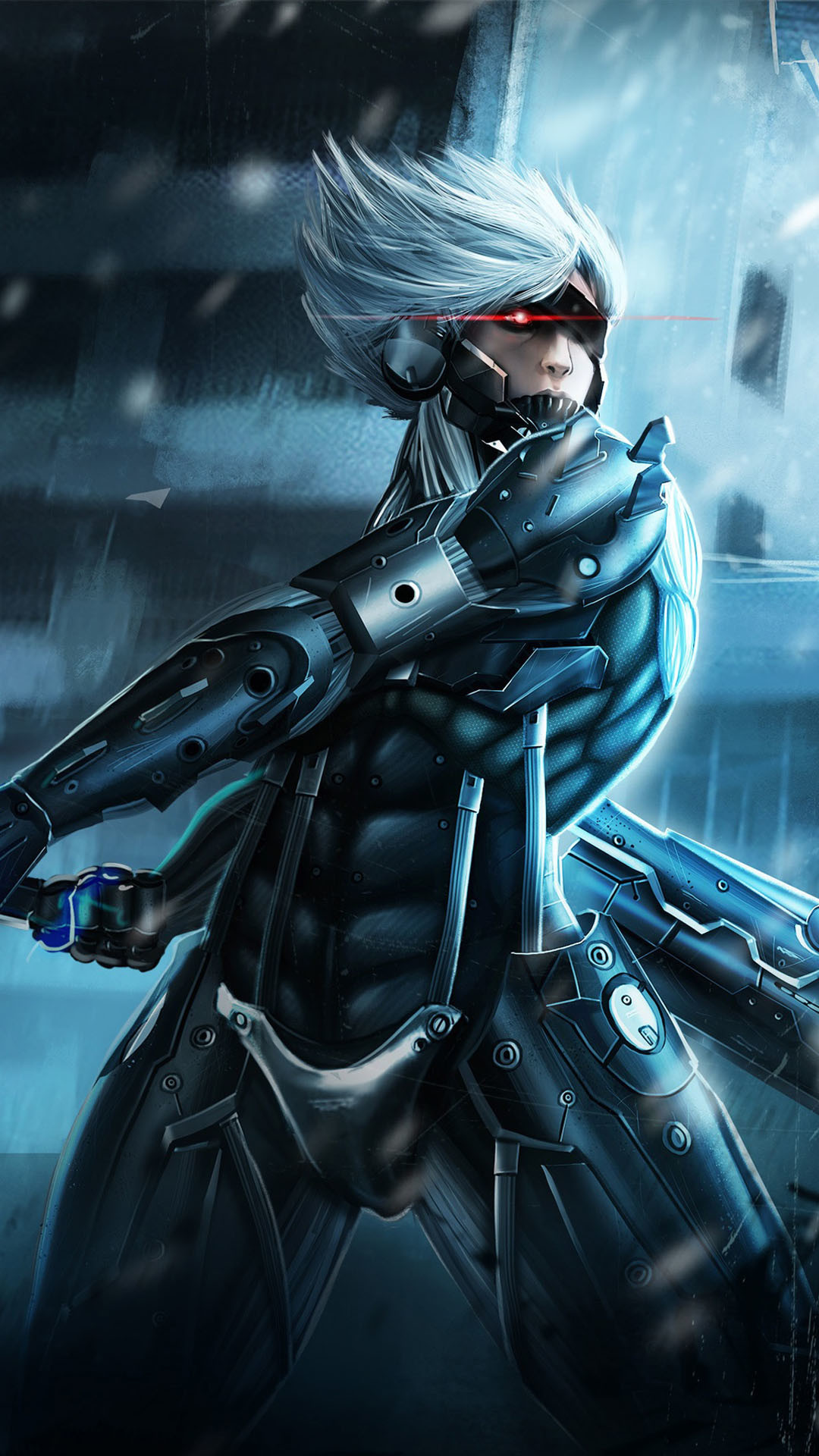 Metal Gear Rising Raiden iPhone 6 / 6 Plus and iPhone 5/4 Wallpapers